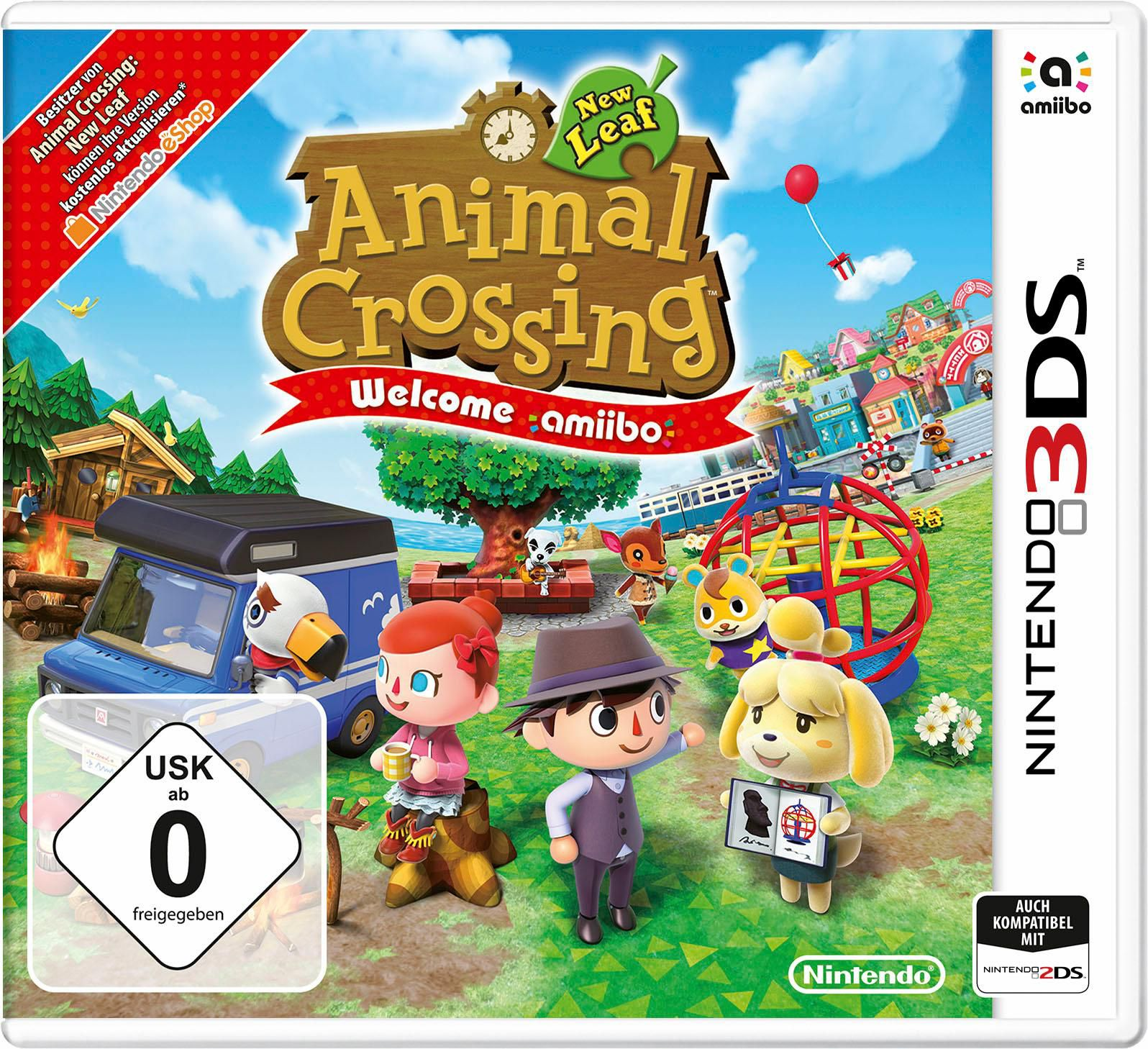 NEW NINTENDO 3DS Animal Crossing: New Leaf - Welcome amiibo Nintendo 3DS
