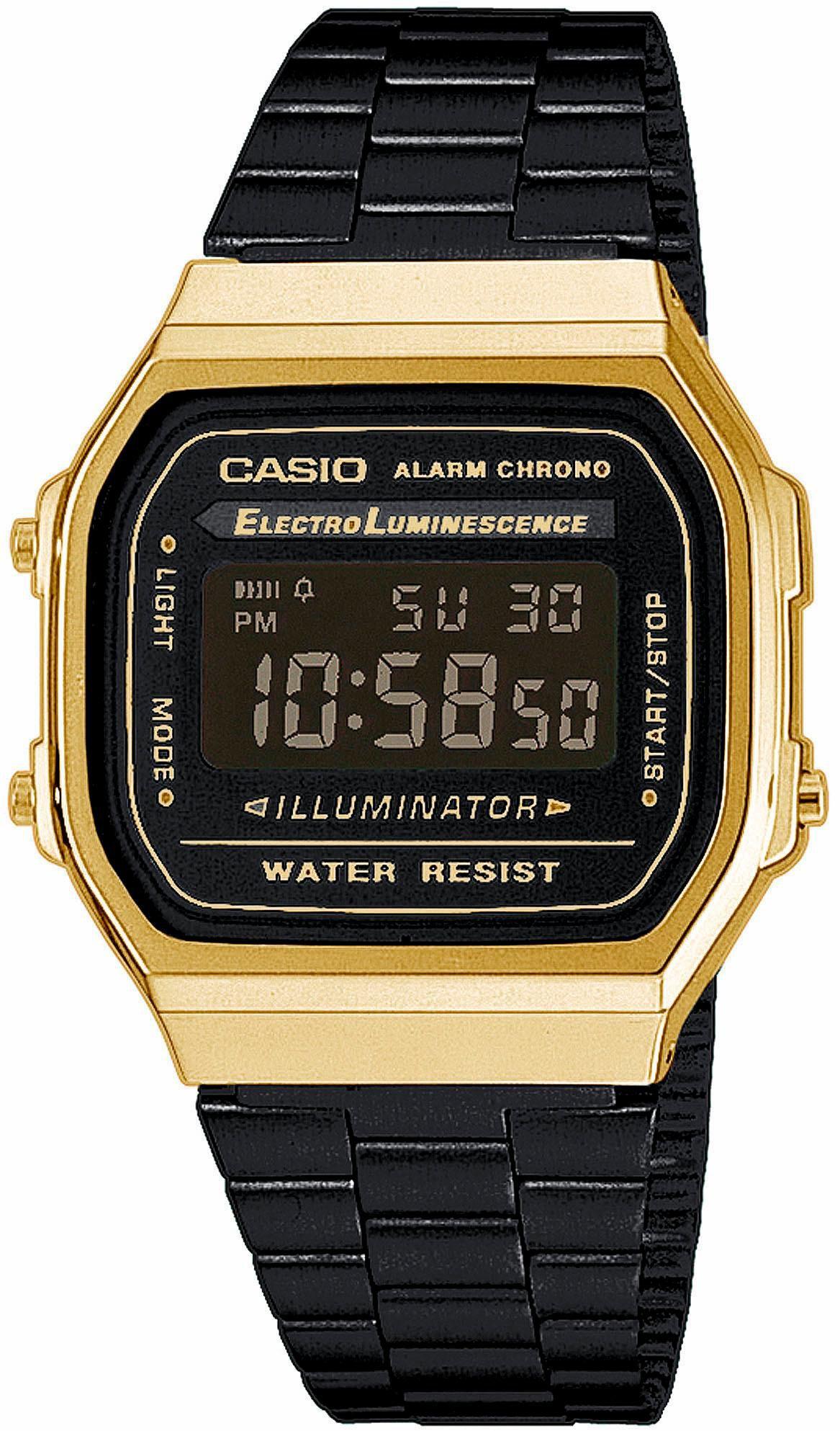 CASIO COLLECTION Casio Collection Chronograph »A168WEGB-1BEF«