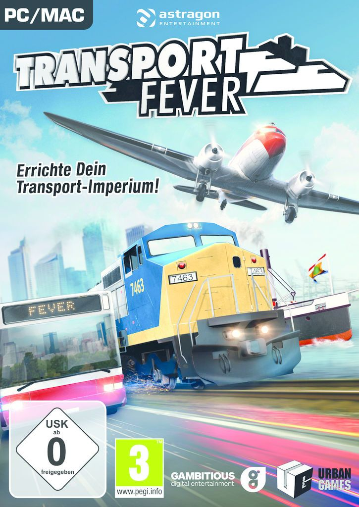 ASTRAGON astragon PC - Spiel »Transport Fever«