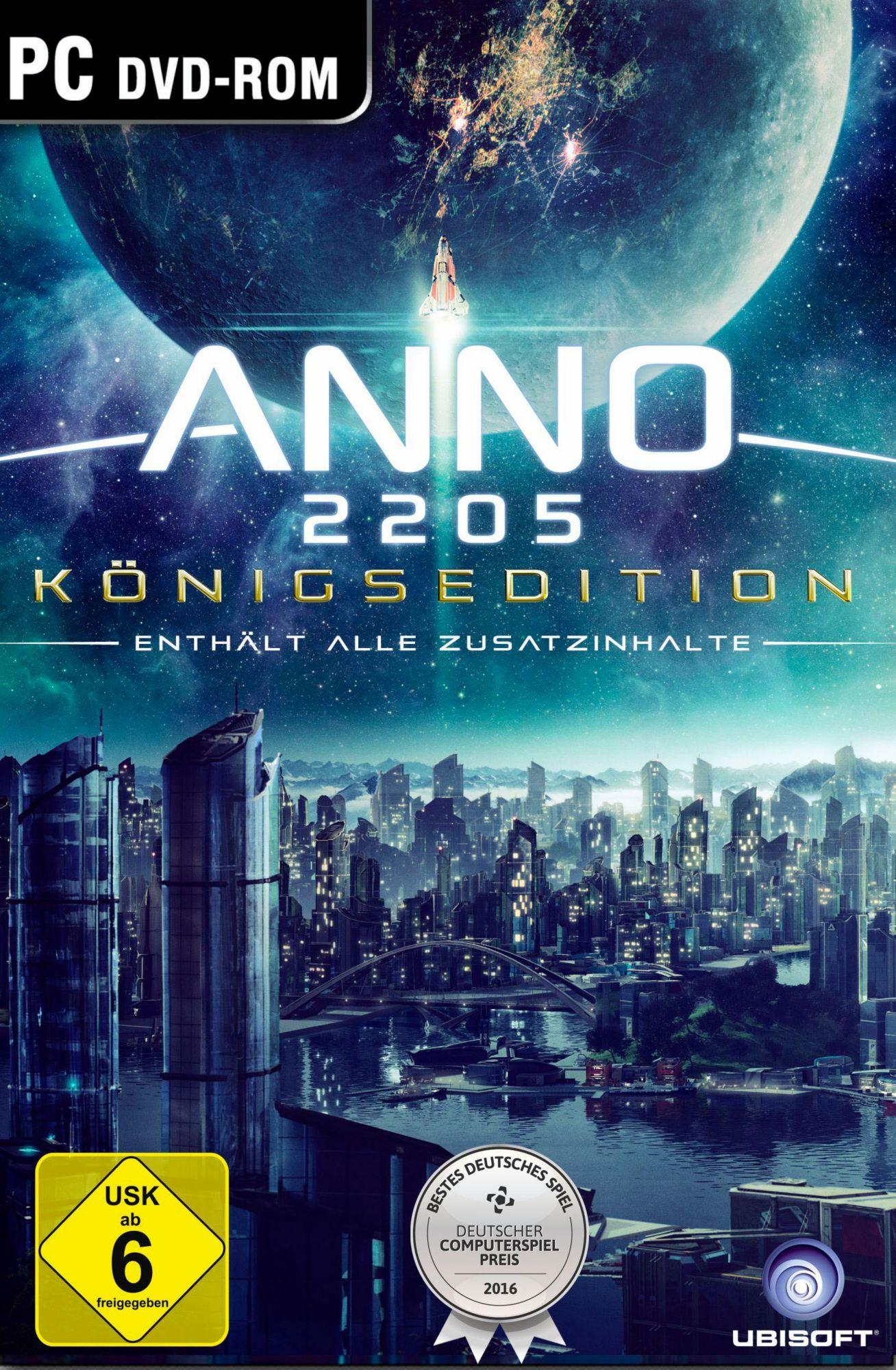 UBISOFT Anno 2205 Königsedition (PC)