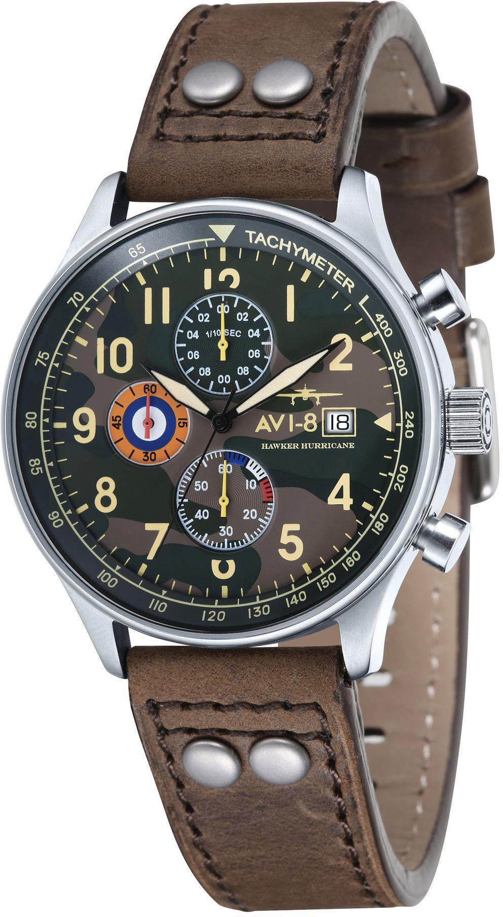 AVI 8 AVI-8 Chronograph »Hawker Hurricane, AV-4011-09«