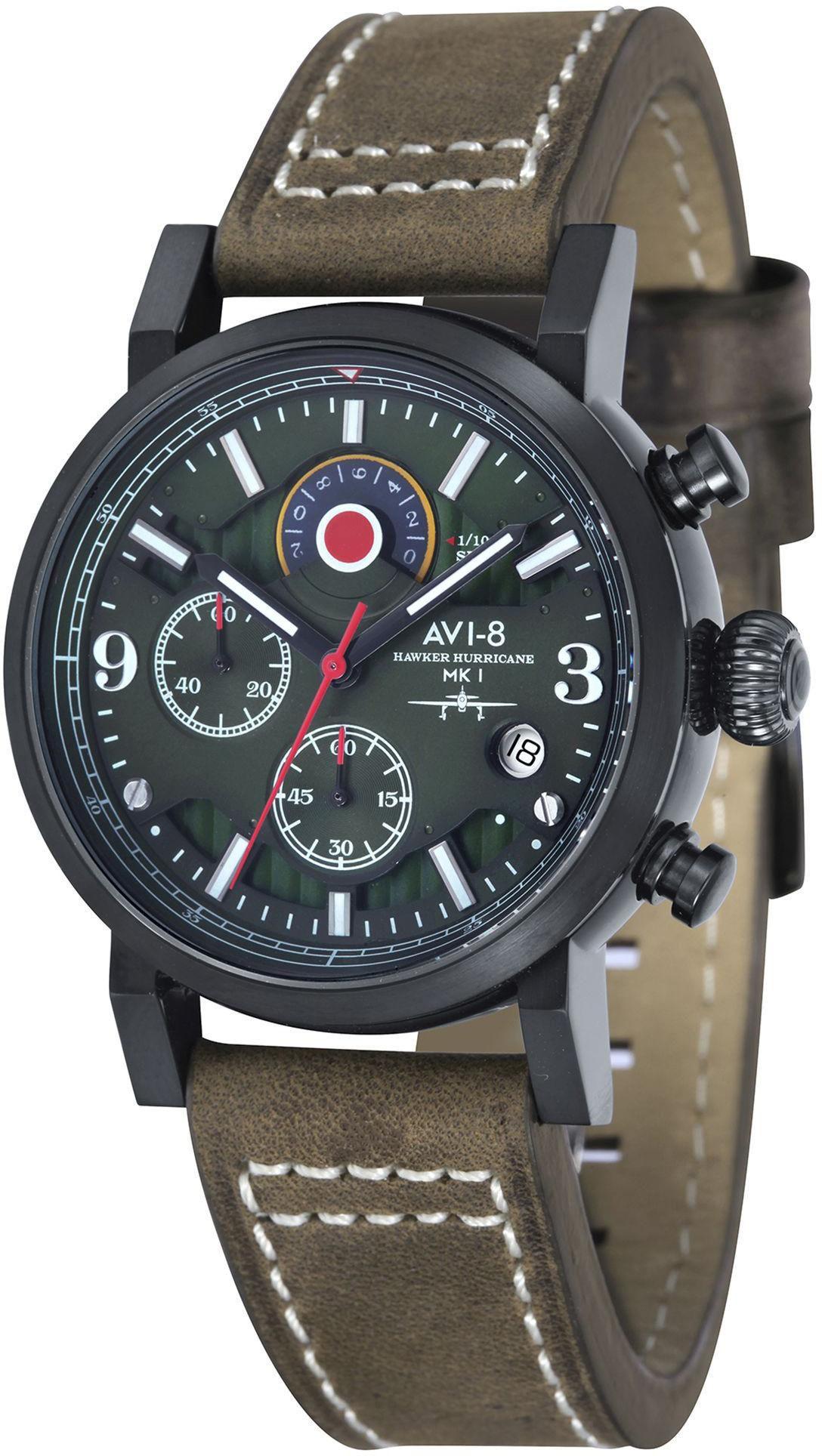 AVI 8 AVI-8 Chronograph »Hawker Hurricane, Av-4041-04«