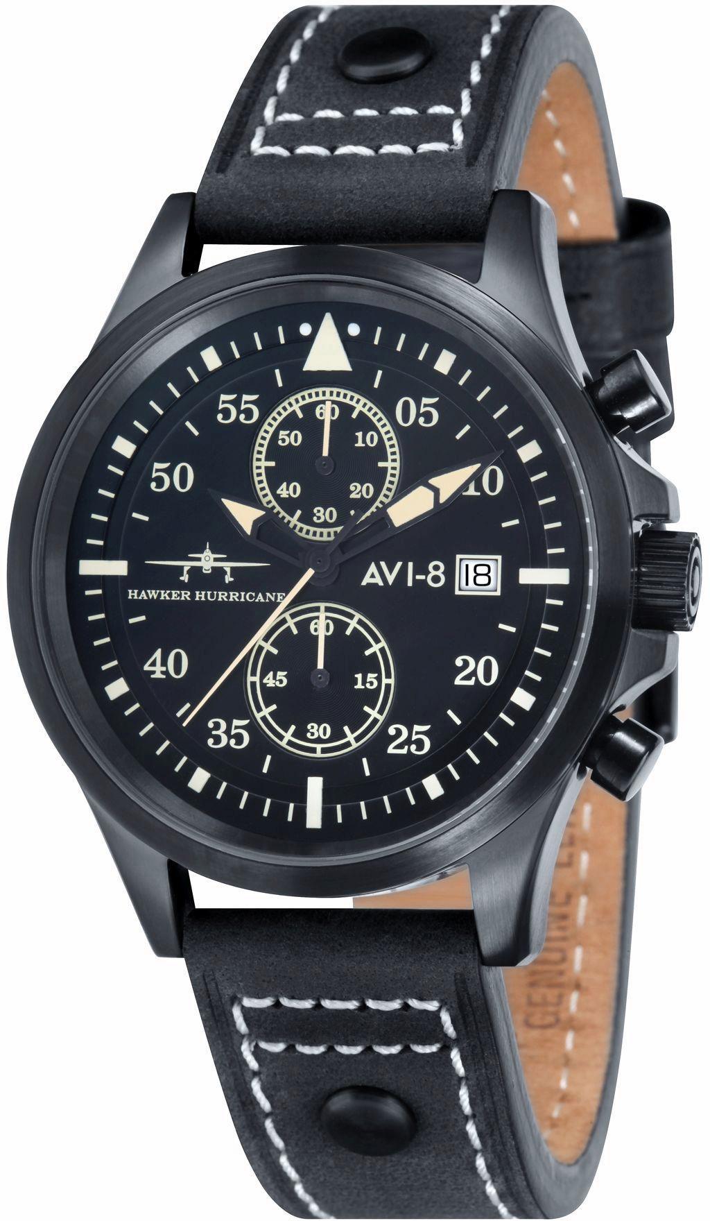 AVI 8 AVI-8 Chronograph »Hawker Hurricane, AV-4013-04«