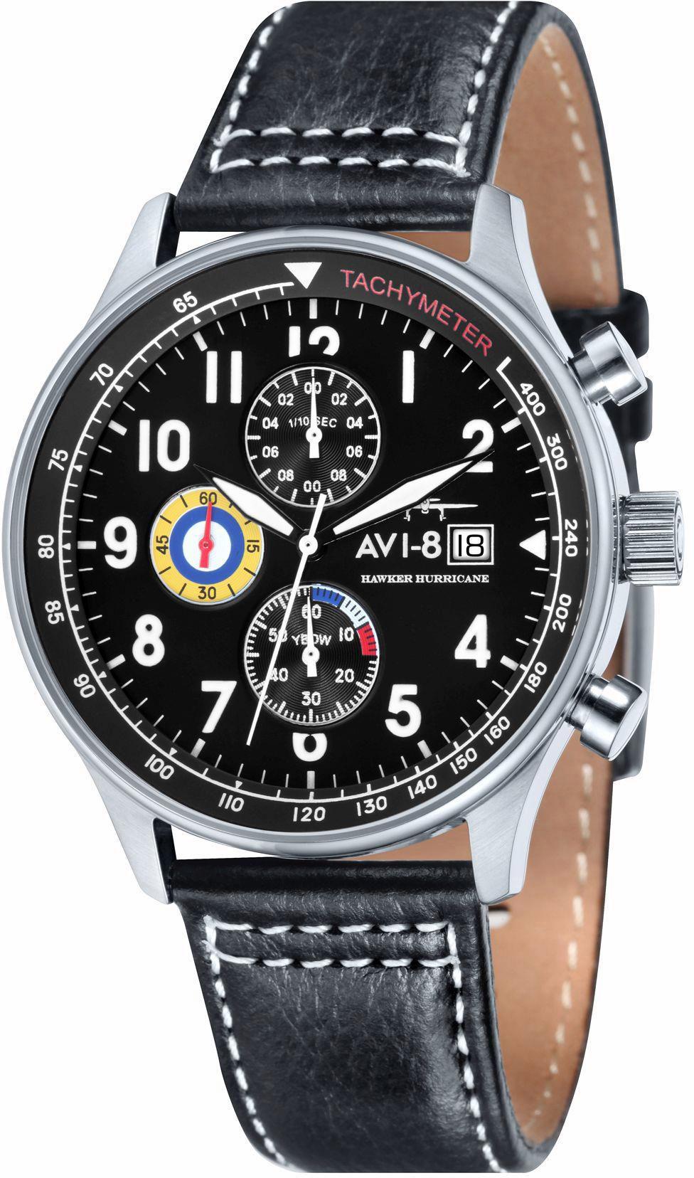 AVI 8 AVI-8 Chronograph »Hawker Hurricane, AV-4011-02«