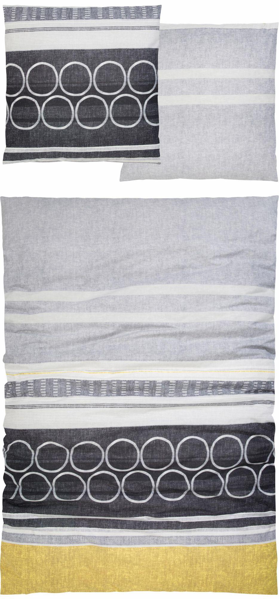 CASATEX Bettwäsche, Casatex, »Ponza«, mit gemusterten Streifen