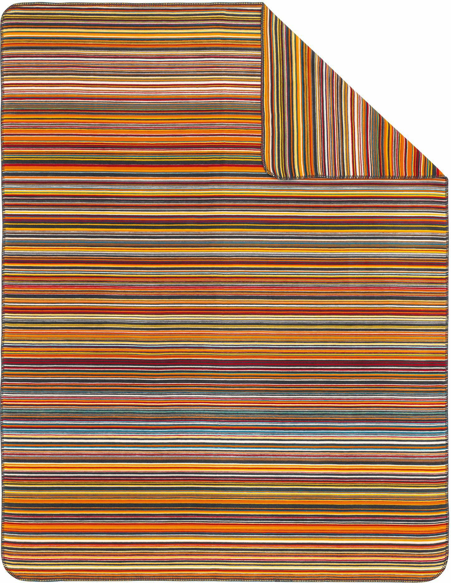 IBENA Wohndecke, Ibena, »Stripes«, mit bunten Streifen