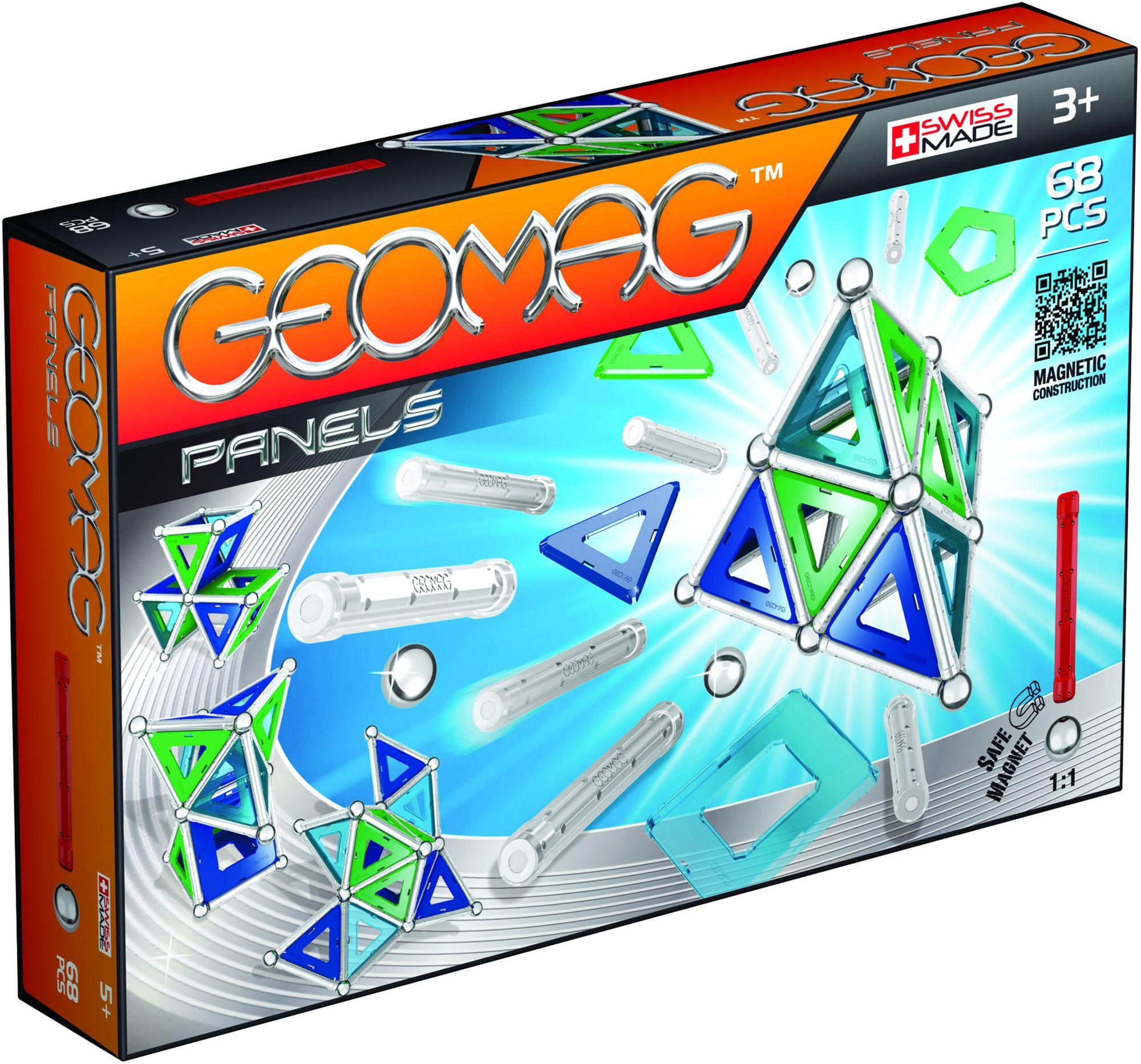GEOMAG Geomag? Konstruktionsspielzeug (68-tlg.), »Panels«