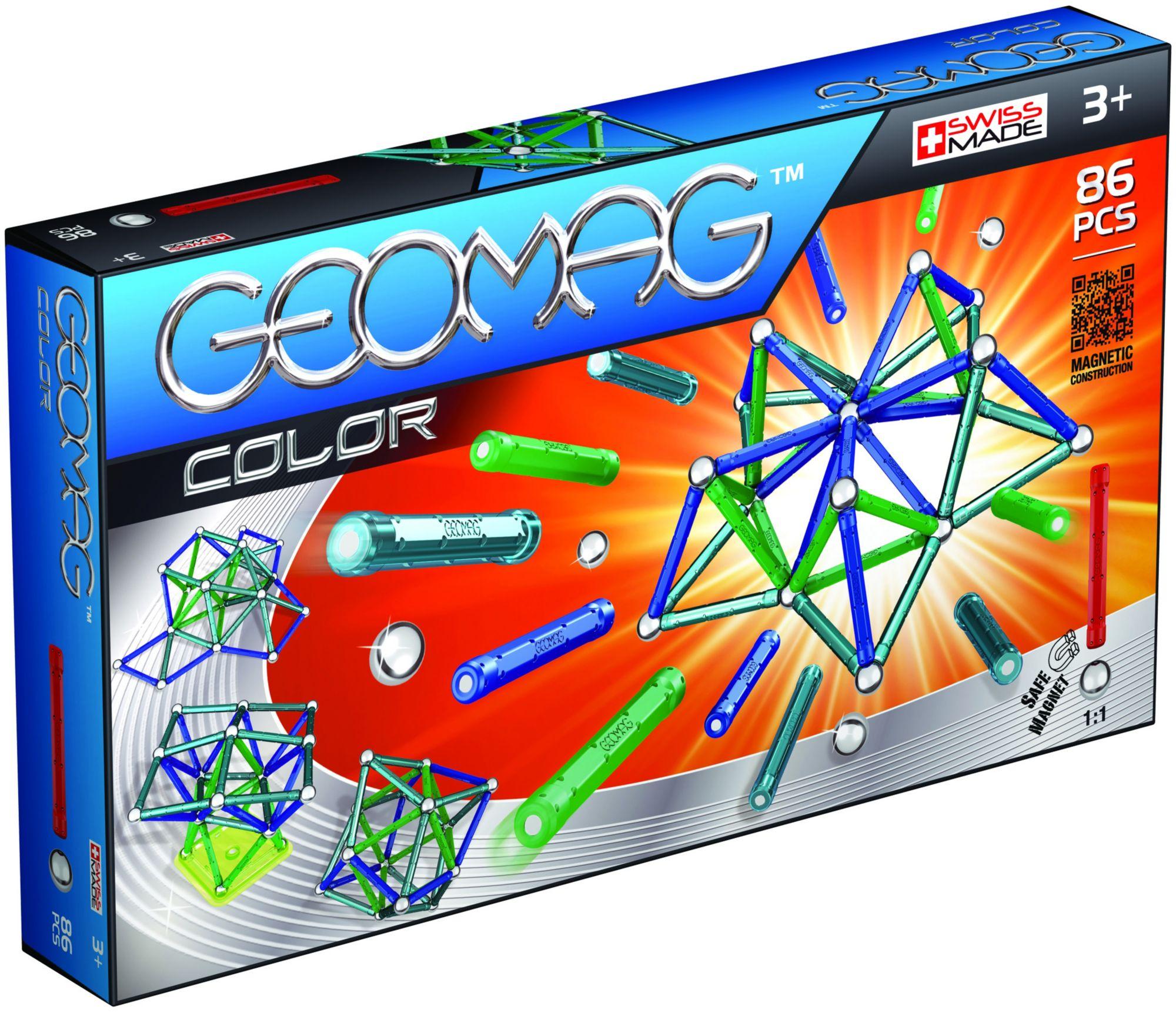 GEOMAG Geomag? Konstruktionsspielzeug (86-tlg.), »Color«