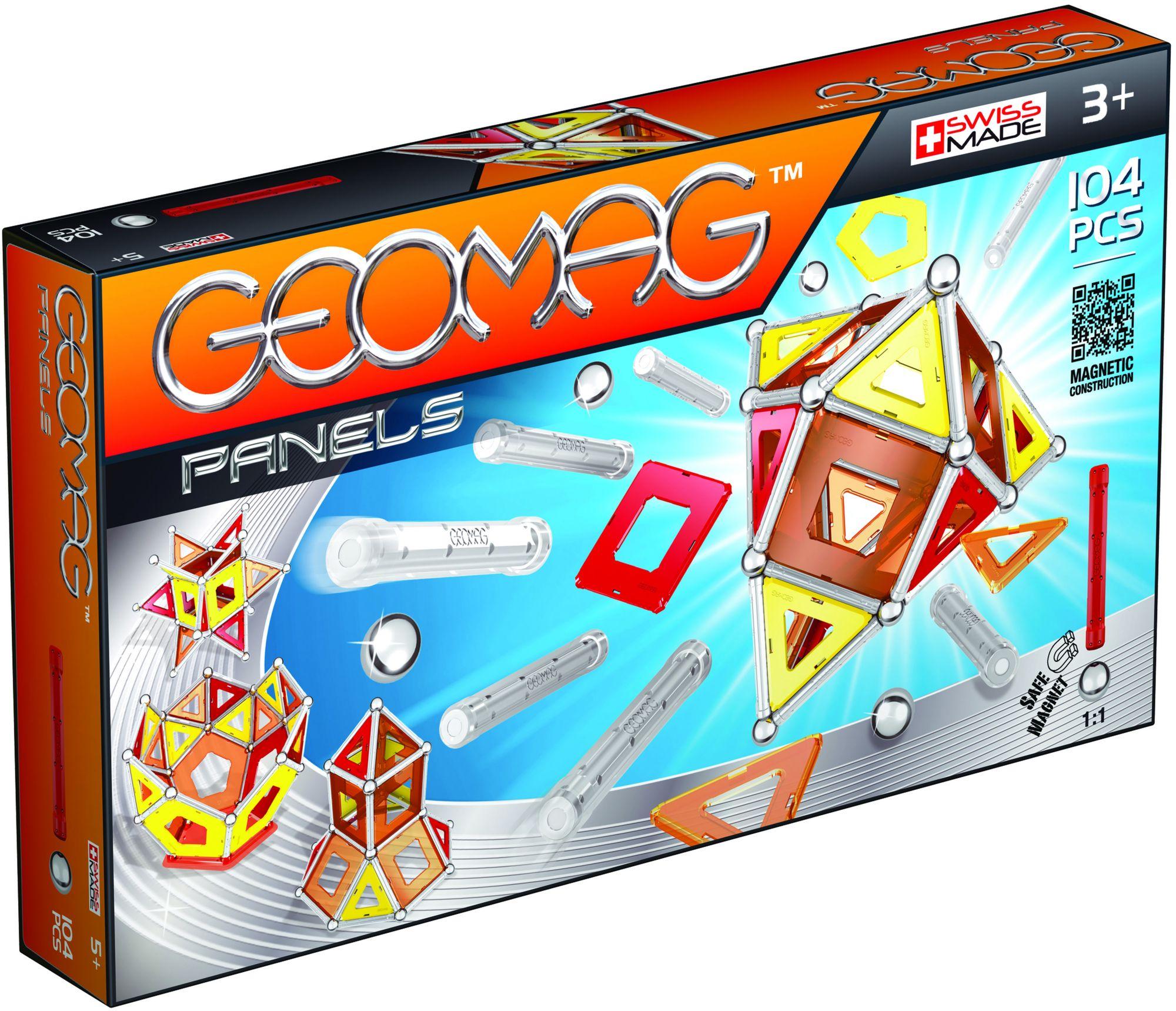 GEOMAG Geomag? Konstruktionsspielzeug (104-tlg.), »Panels«