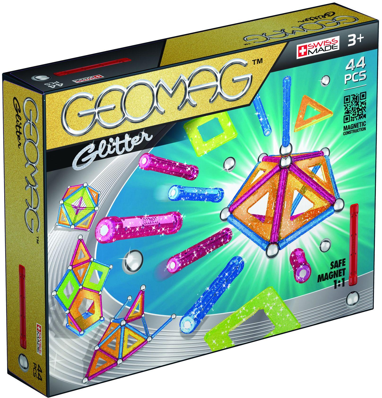 GEOMAG Geomag? Konstruktionsspielzeug (44-tlg.), »Glitter«