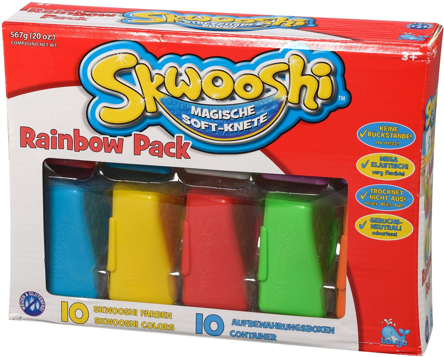 BELUGA Beluga Knete, »Skwooshi? Magische Softknete Rainbow Set«