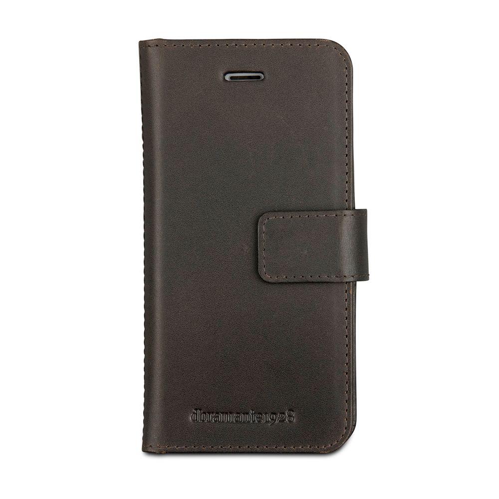 DBRAMANTE1928 dbramante1928 LederCase »Folio Lynge 2 iPhone (7) Hunter Dark«