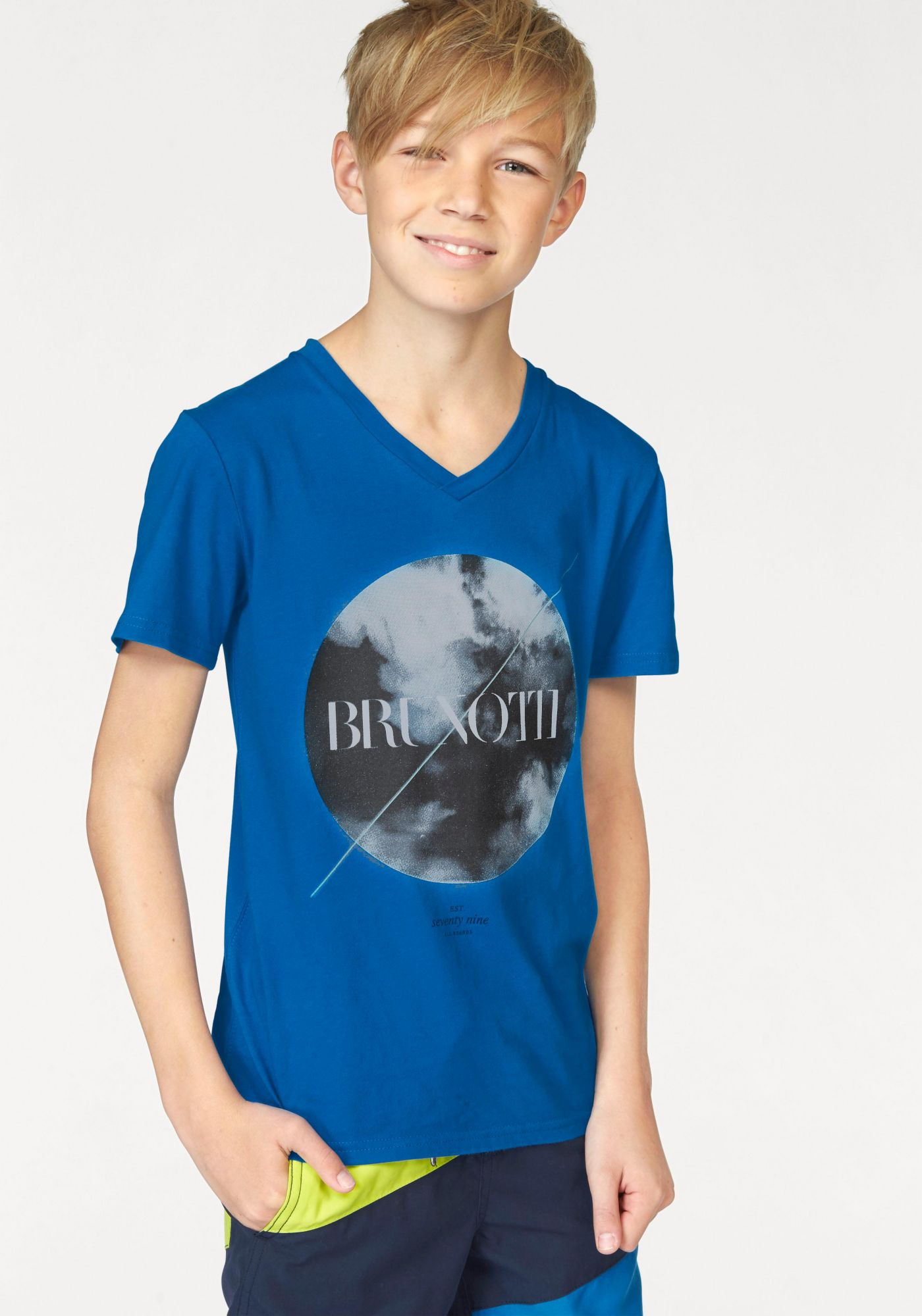 BRUNOTTI Brunotti T-Shirt »MOON JR BOYS T-SHIRT«
