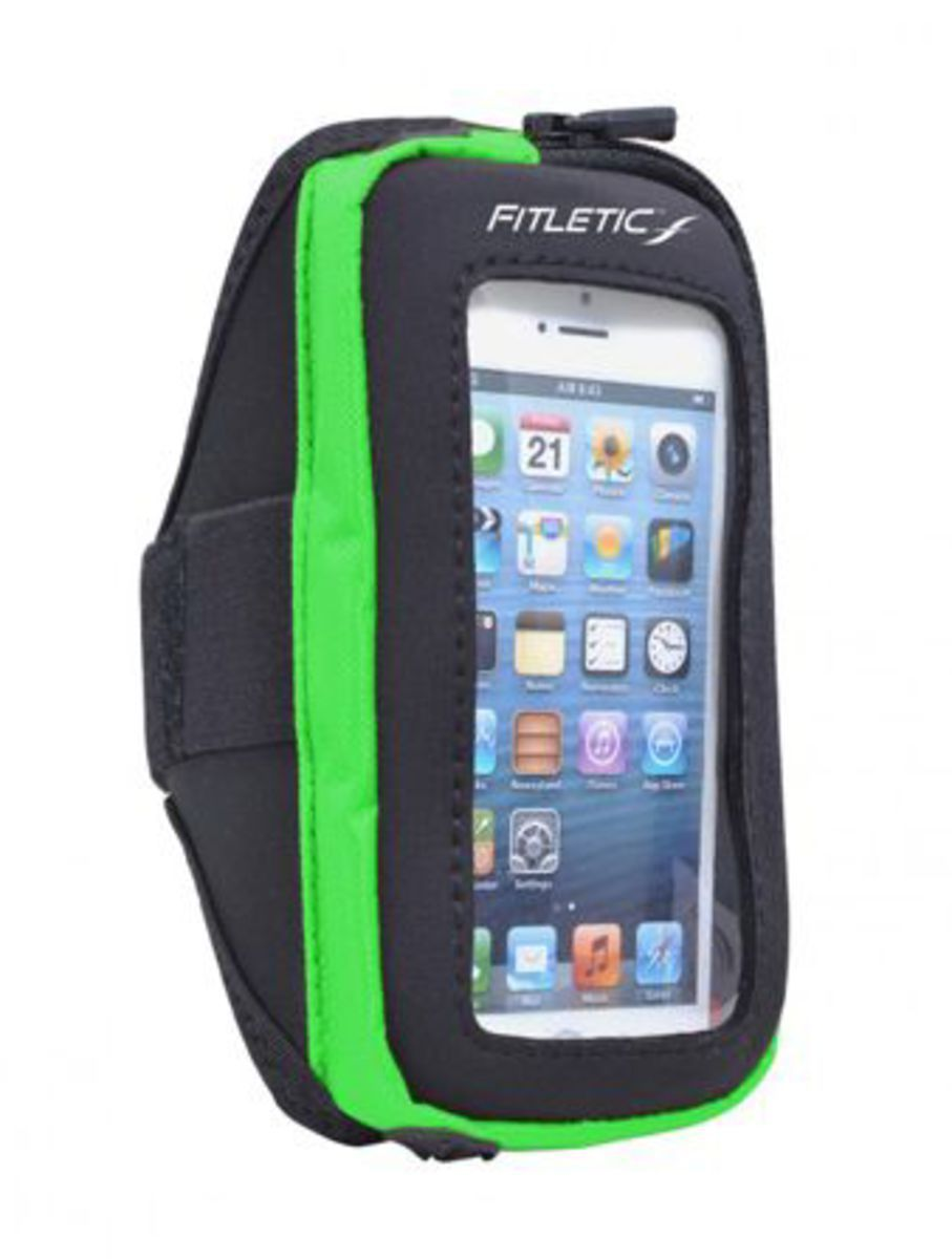 FITLETIC Fitletic Sportarmband »Smartphone Armtasche PLUS - Größe S/M«