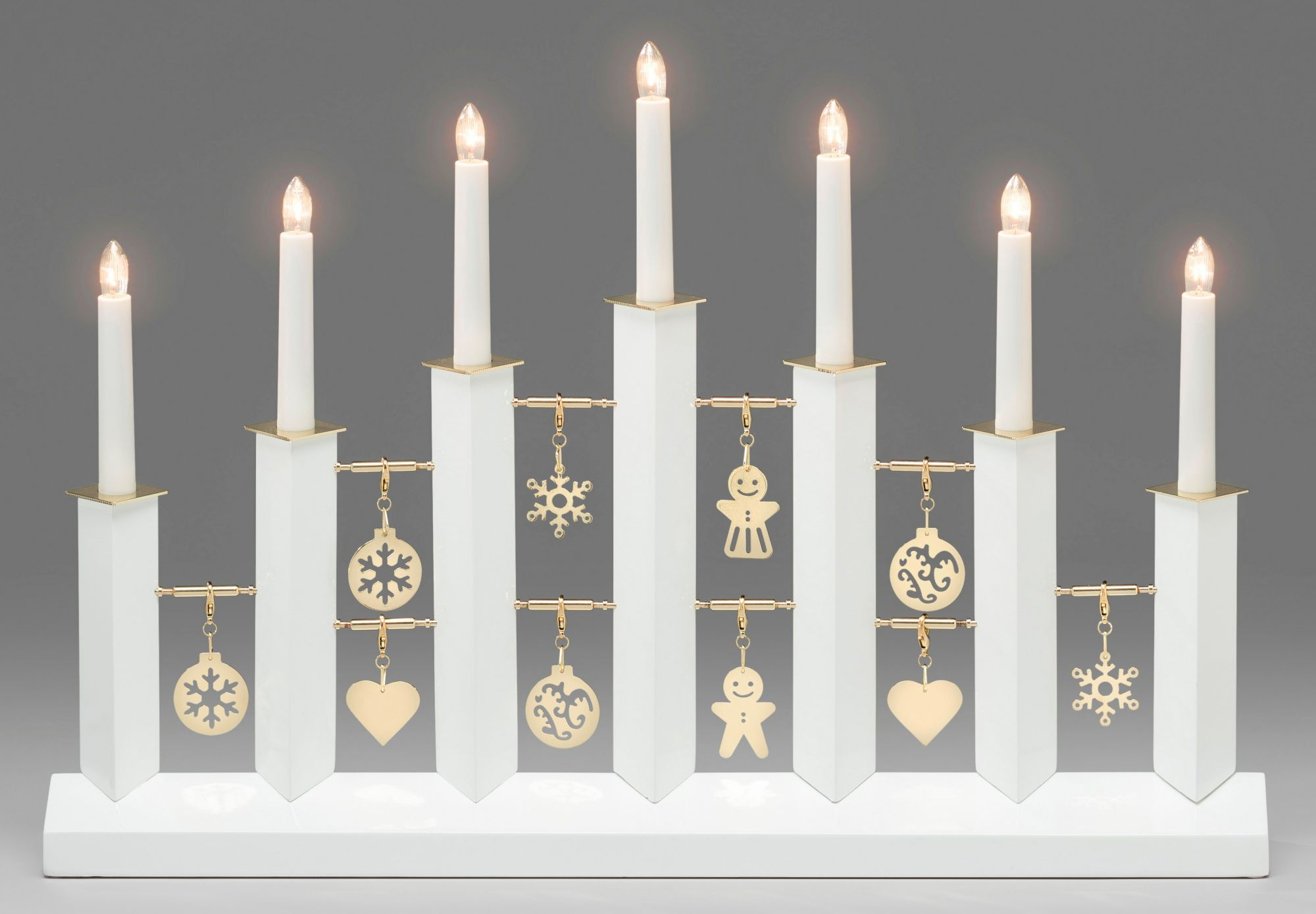 KONSTSMIDE Kerzenleuchter Manua