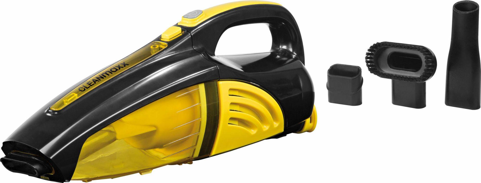 CLEAN MAXX Clean Maxx Akku-Handstaubsauger 2in1, nass/trocken, 7,4V, gelb/schwarz