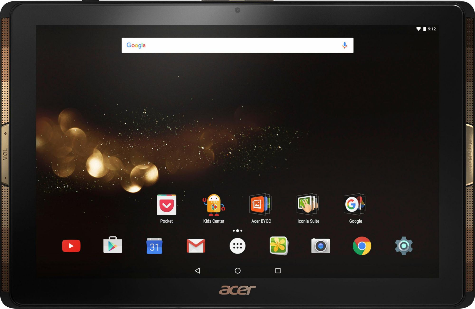 ACER Acer Iconia Tab 10 A3-A40 Tablet Wi-Fi 64 GB Full HD IPS Android 6.0 schwarz