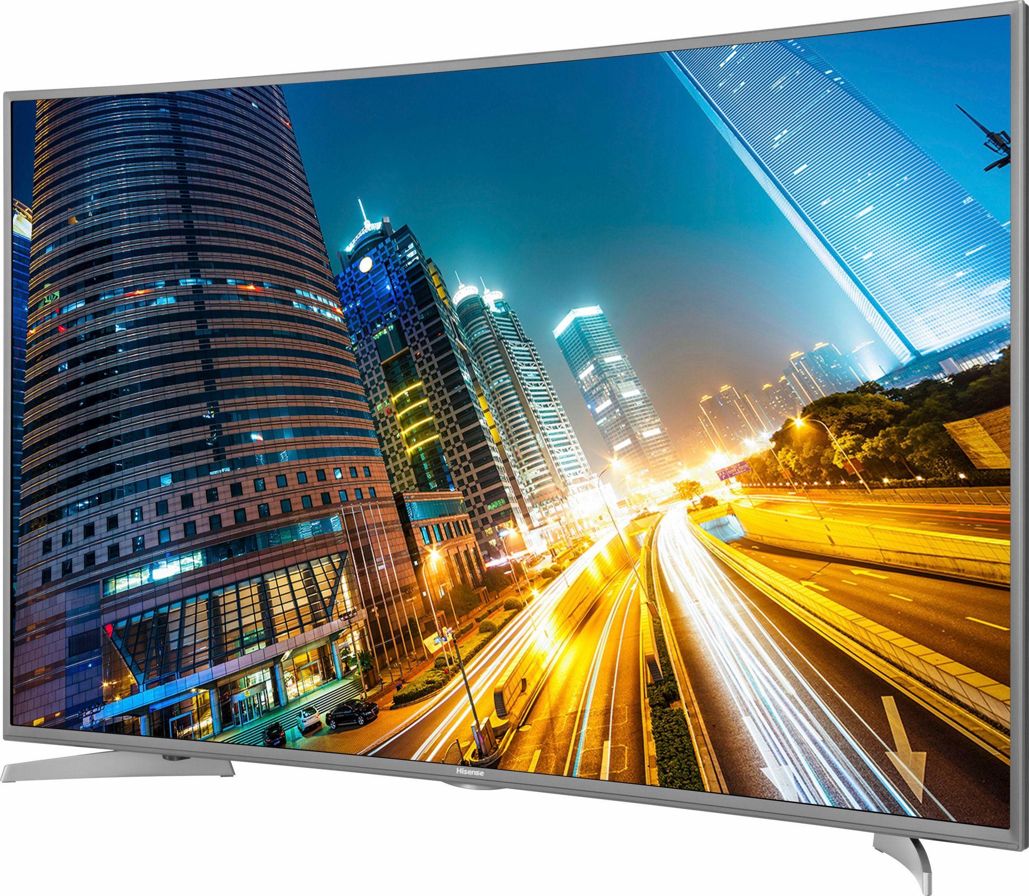 HISENSE Hisense H55MEC5650, Curved-LED-Fernseher, 138 cm (55 Zoll), 2160p (4K Ultra HD), Smart-TV