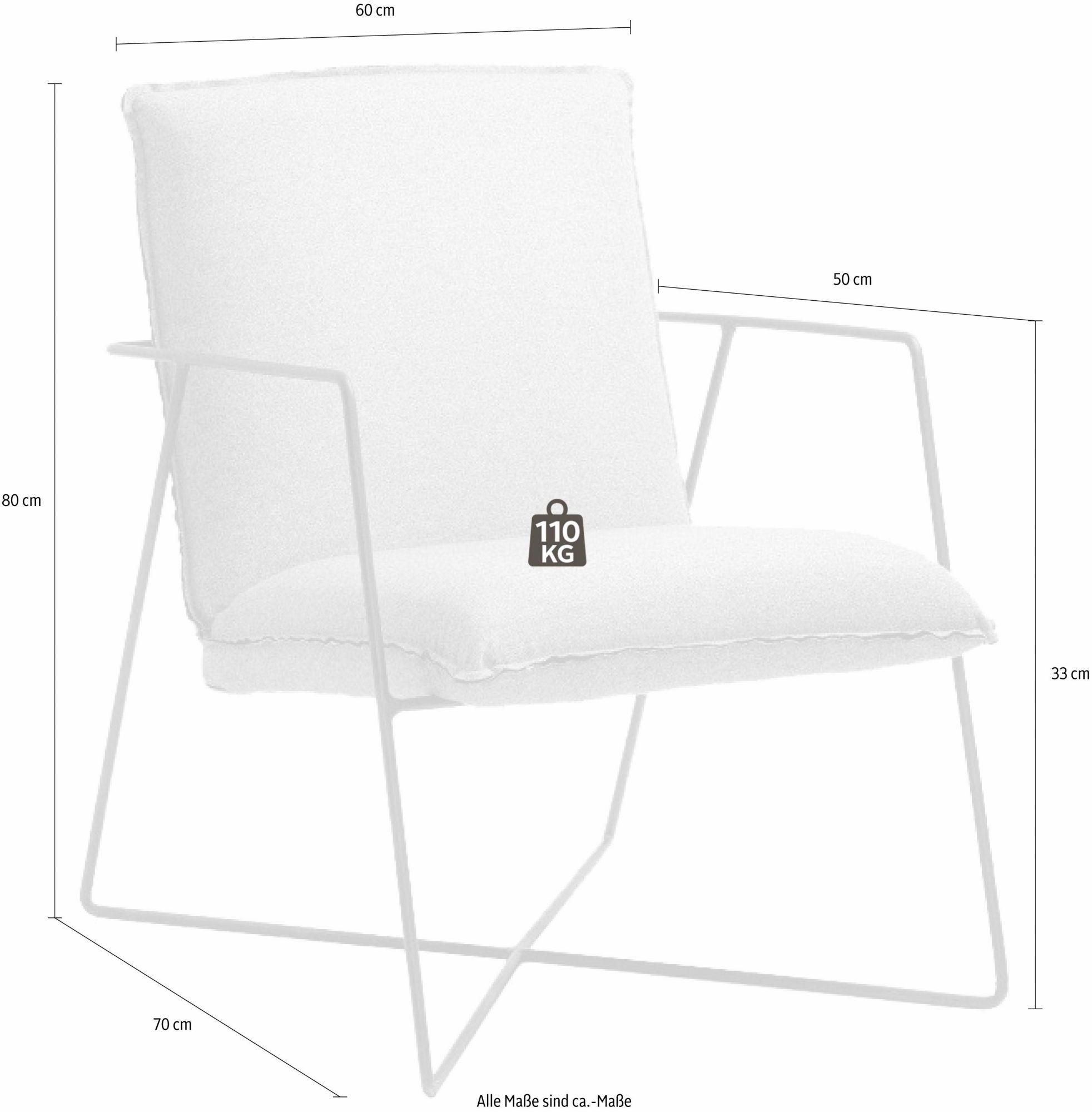 FAVORIT Favorit Stuhl »Bari« in 3 Farben