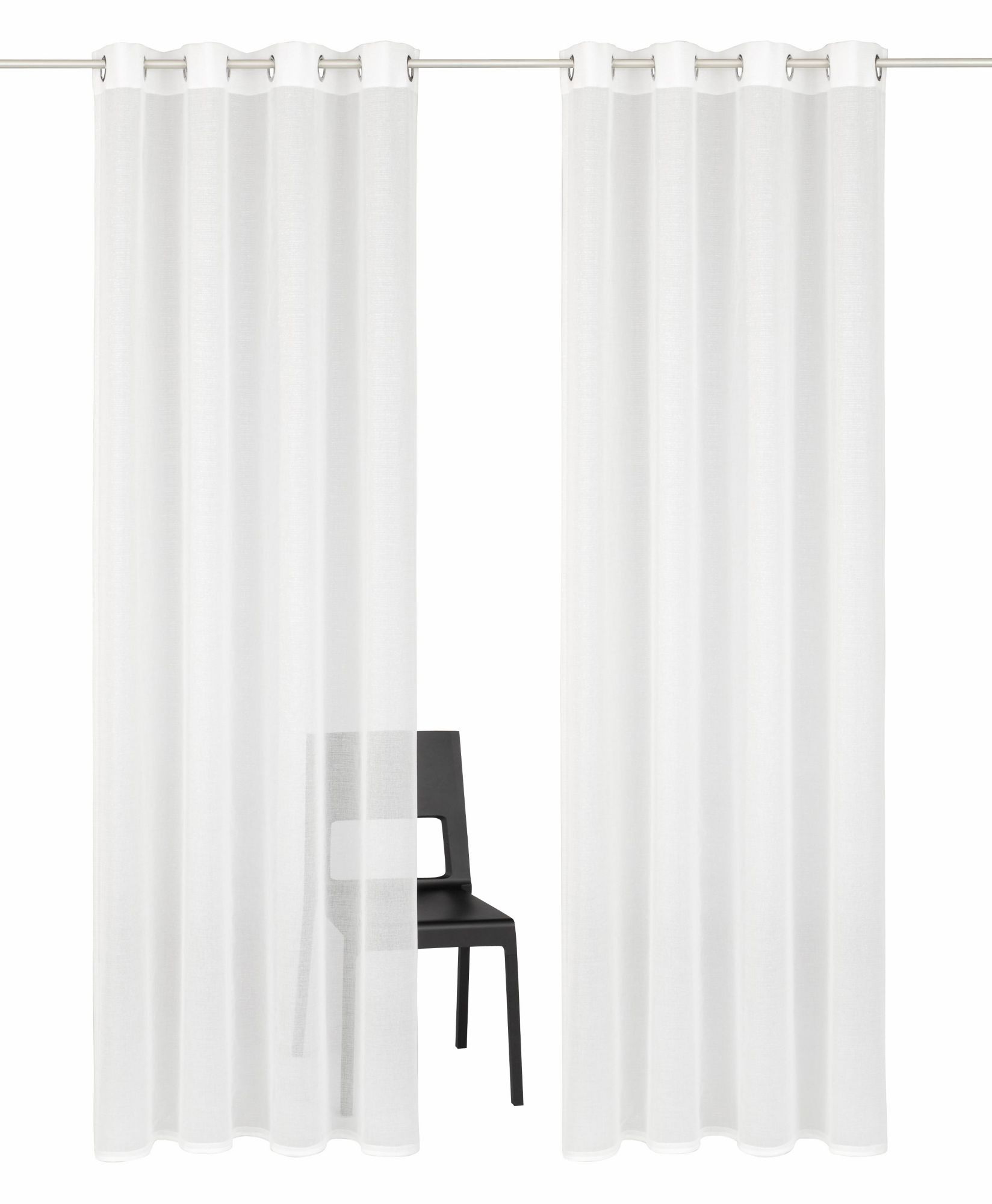 HOME AFFAIRE COLLECTION Gardine, Home affaire Collection, »Mindoro«, Ösen (2 Stück)