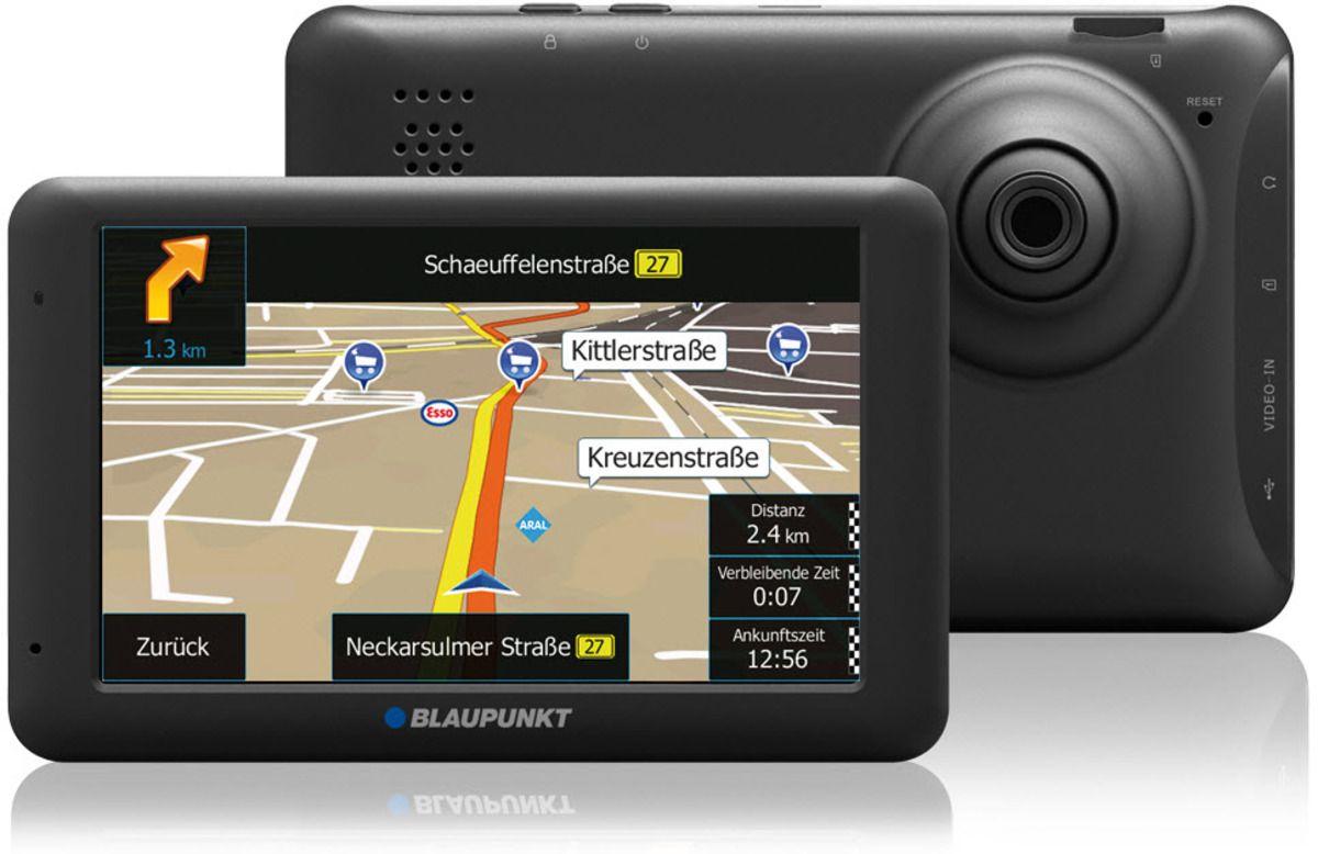 BLAUPUNKT Blaupunkt Navigationsgerät »TravelPilot 53 CAM EU LMU«