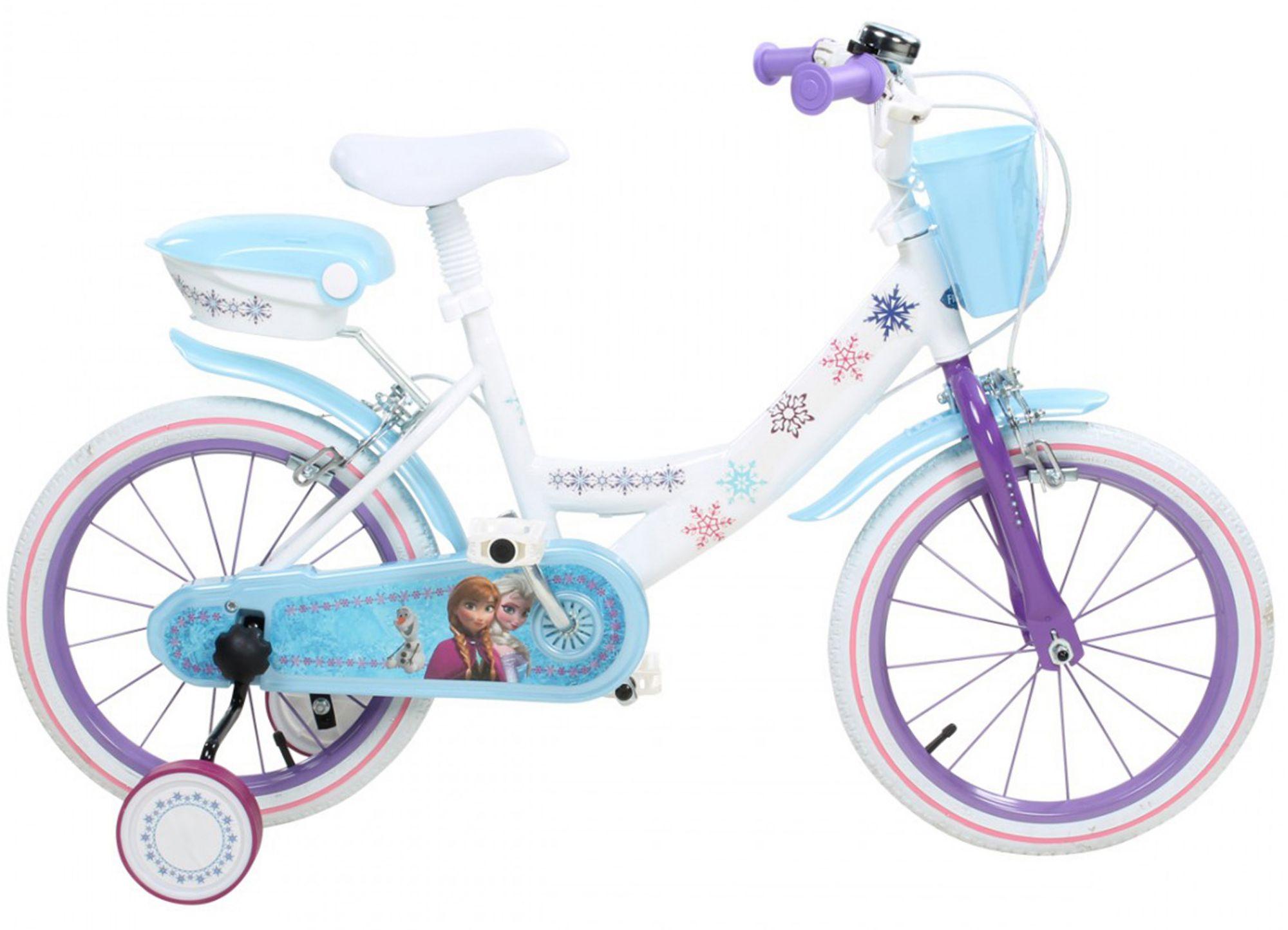 DISNEY Disney Kinderfahrrad Mädchen, 14 Zoll, U-Brakes, »Frozen«