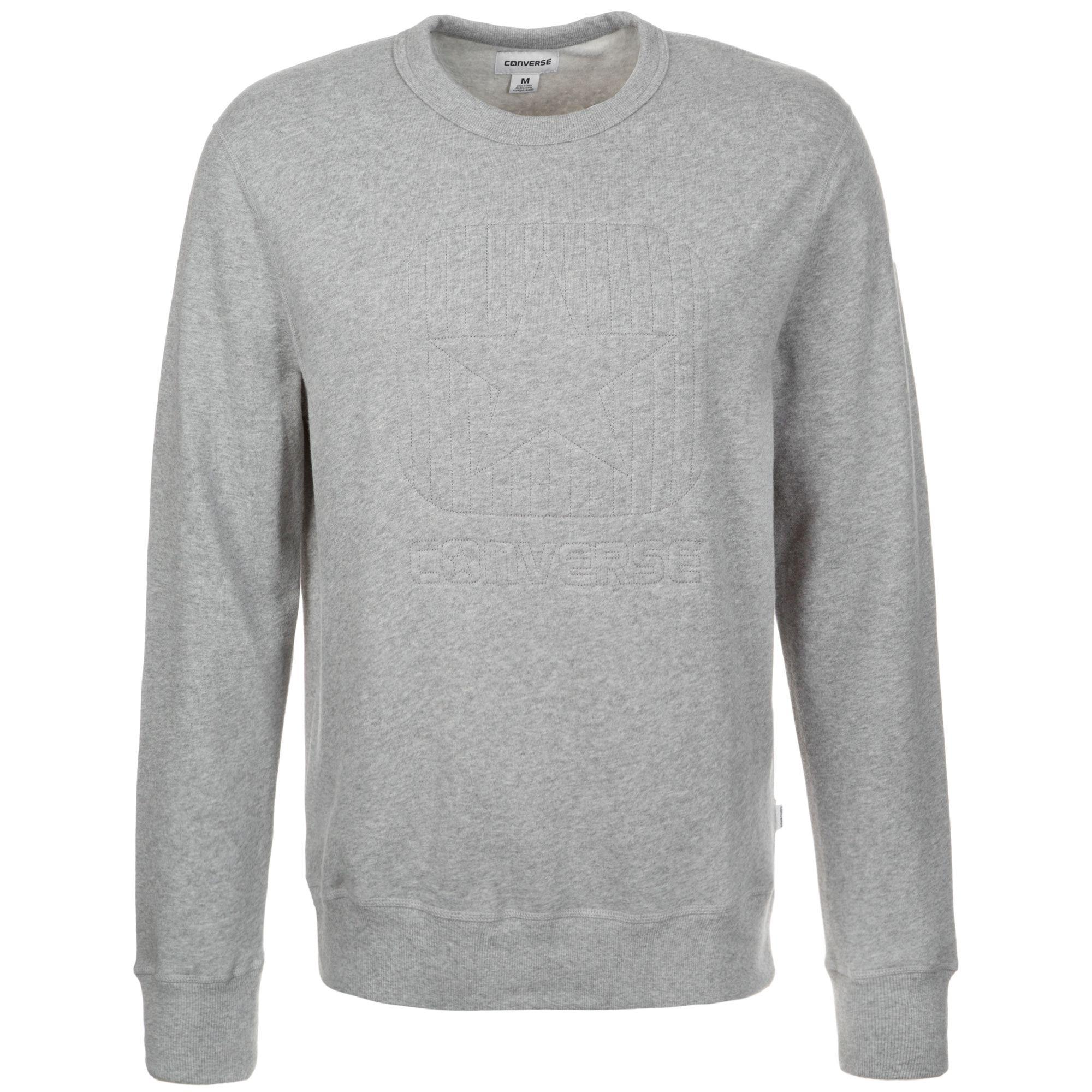 CONVERSE Converse Box Star Quilted Crew Sweatshirt Herren