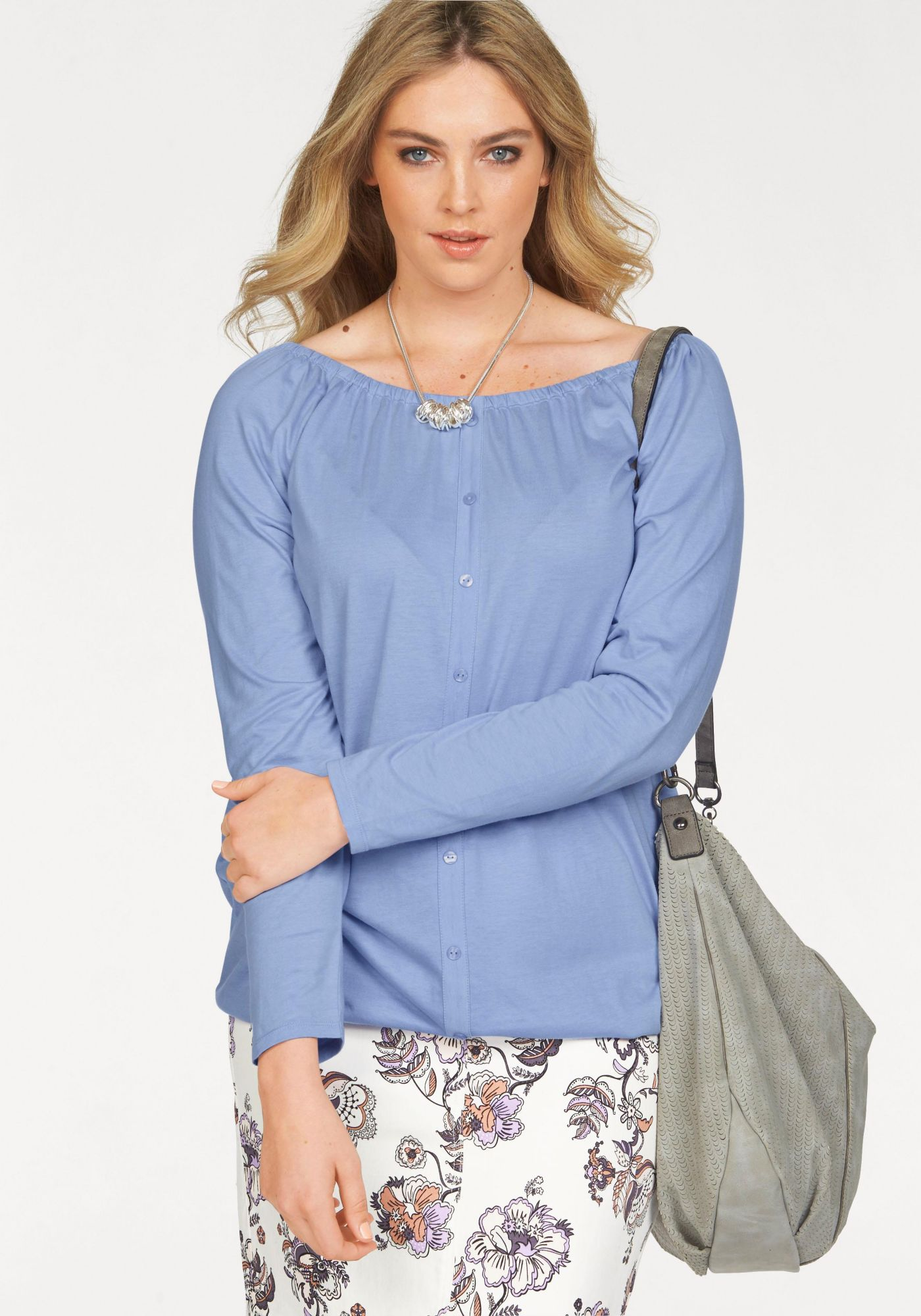 BOYSENS Boysen's Carmenshirt »Off-Shoulder«