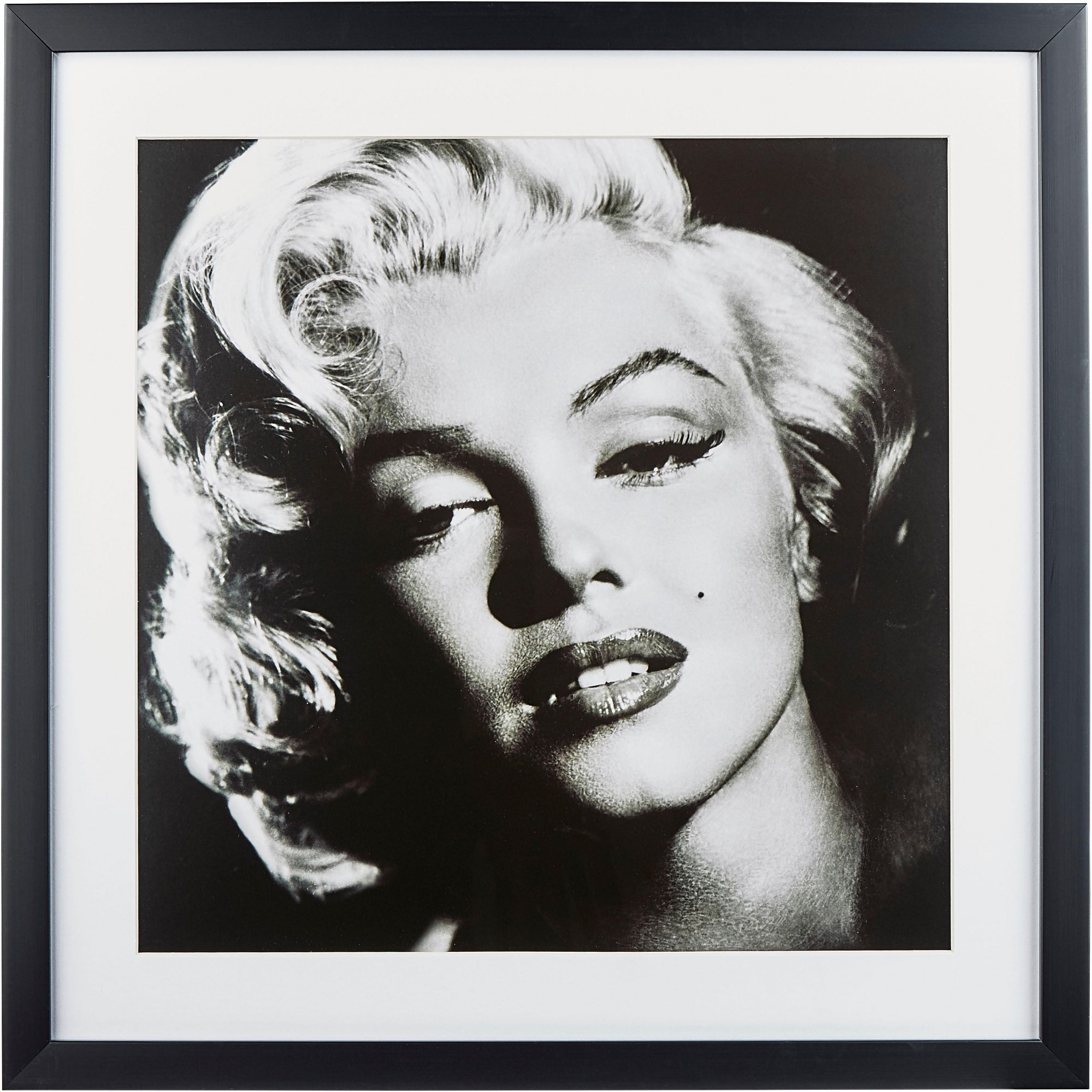 GC G&C gerahmte Fotografie »Celebrities: Marilyn Monroe«, 40/40 cm