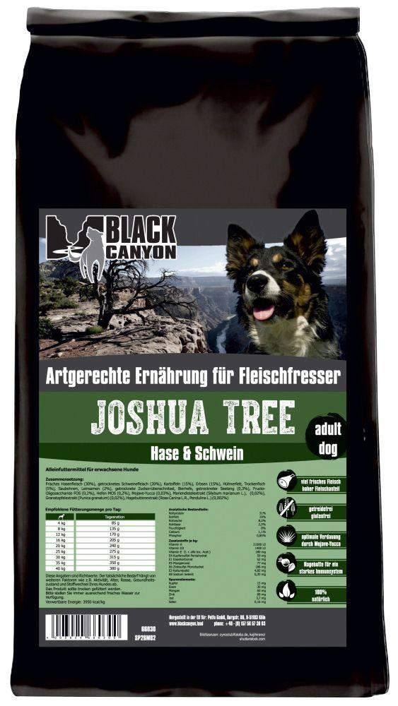 BLACK CANYON Black Canyon Hundetrockenfutter »Joshua Tree Hase & Schwein«, 15 kg