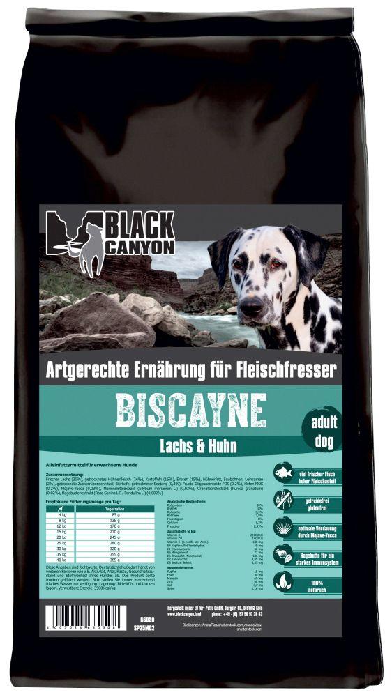BLACK CANYON Black Canyon Hundetrockenfutter »Biscayne Huhn & Lachs«, 5 kg