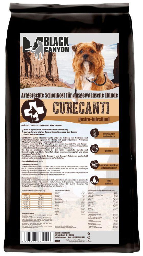 BLACK CANYON Black Canyon Hundetrockenfutter »Curecanti Gastro Intestinal Fisch & Reis«, 12 kg