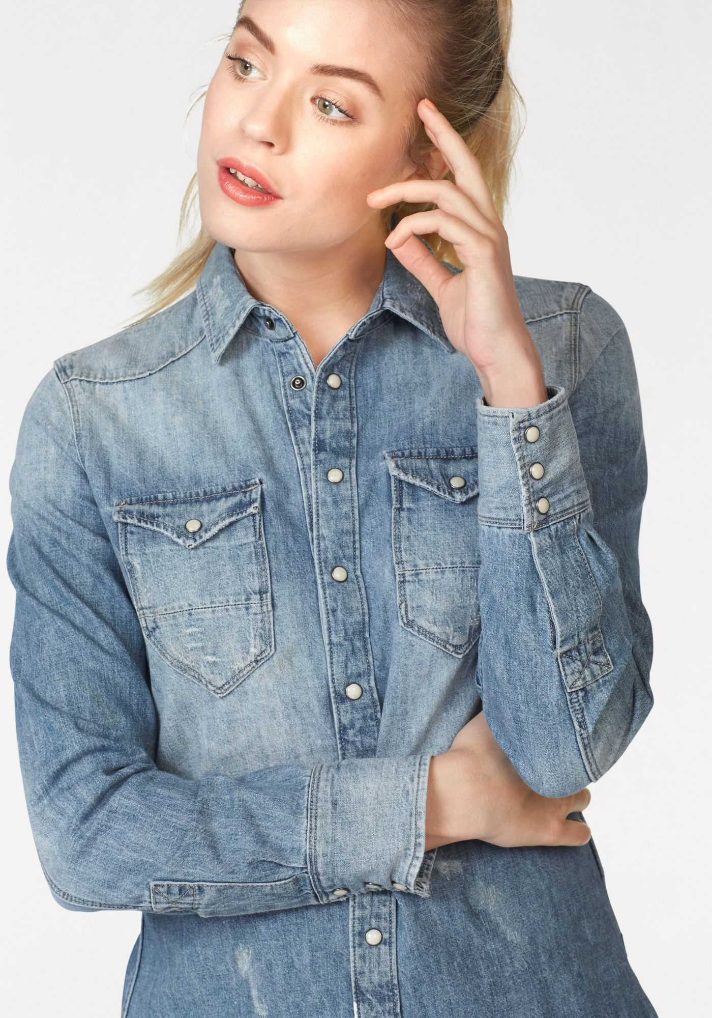 G STAR G-Star Jeansbluse »TACOMA«