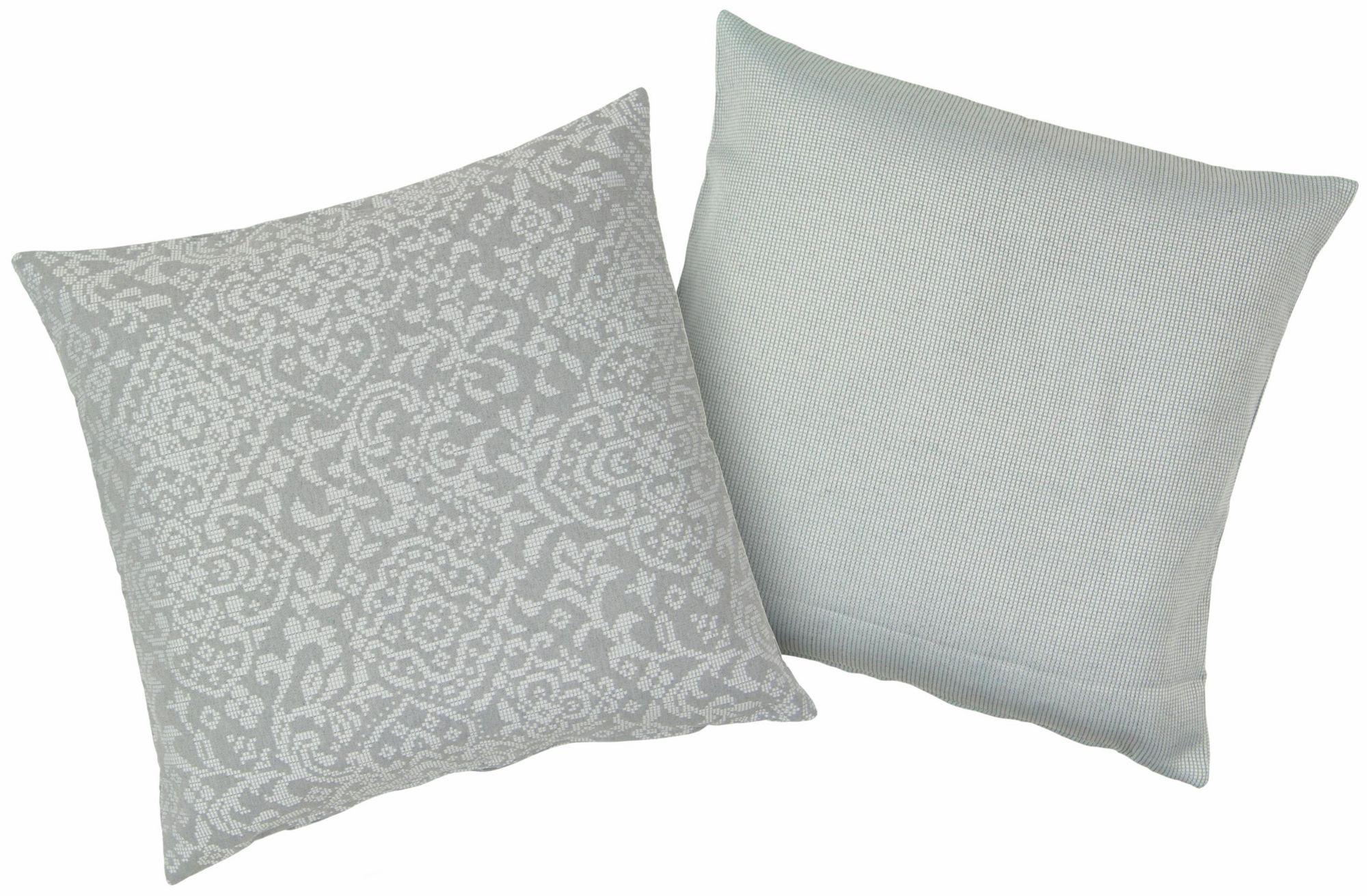 HAGEMANN Kissenbezüge, Hagemann, »Ingve«, 2 Stück in unterschiedlichem Design