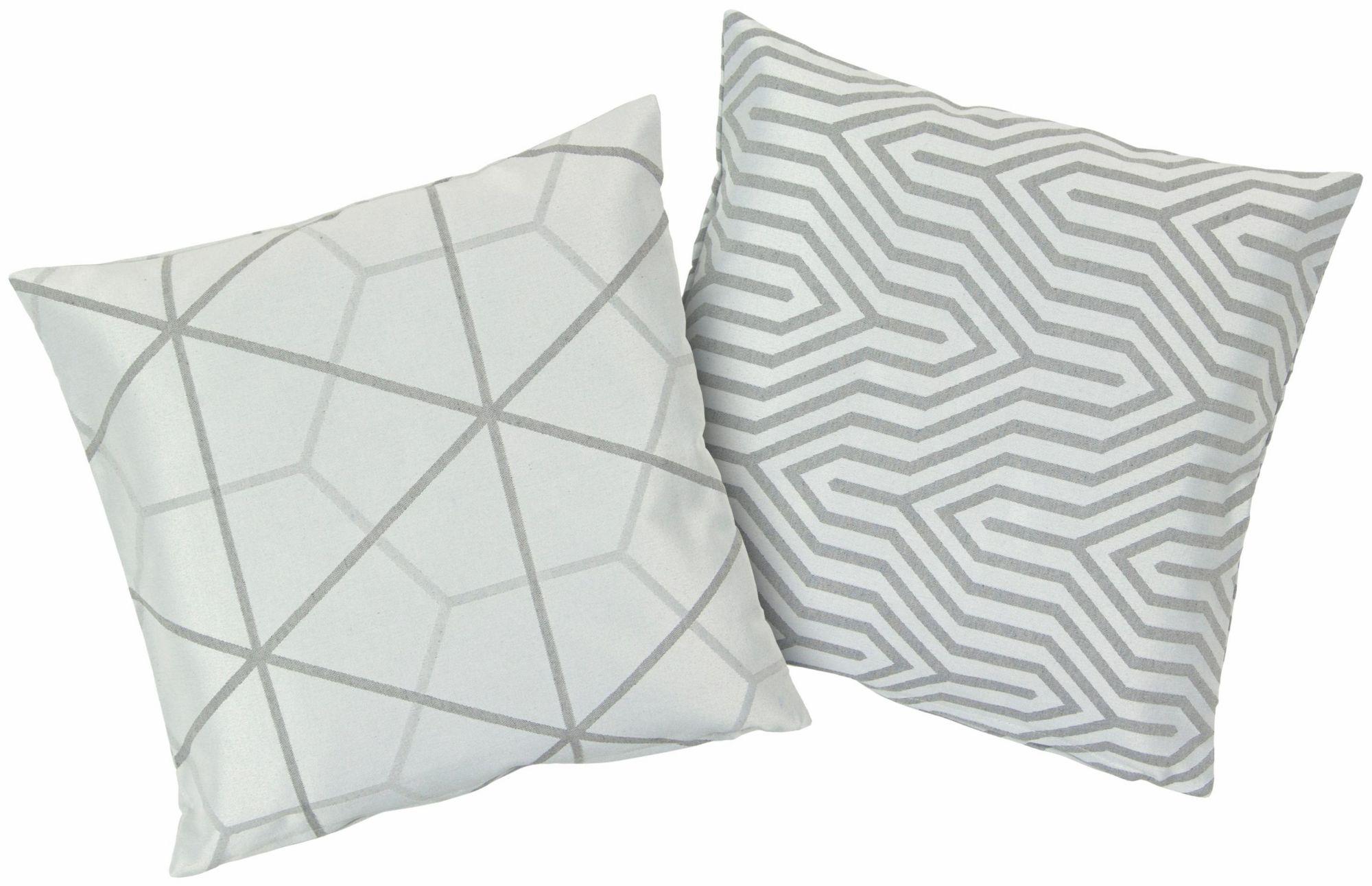 HAGEMANN Kissenbezüge, Hagemann, »Azra«, 2 Stück in unterschiedlichem Design