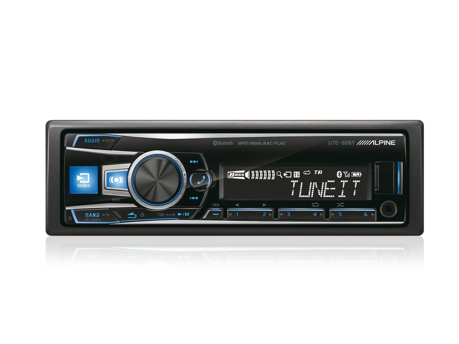 ALPINE  Digital Media Receiver mit Bluetooth »UTE-92BT«