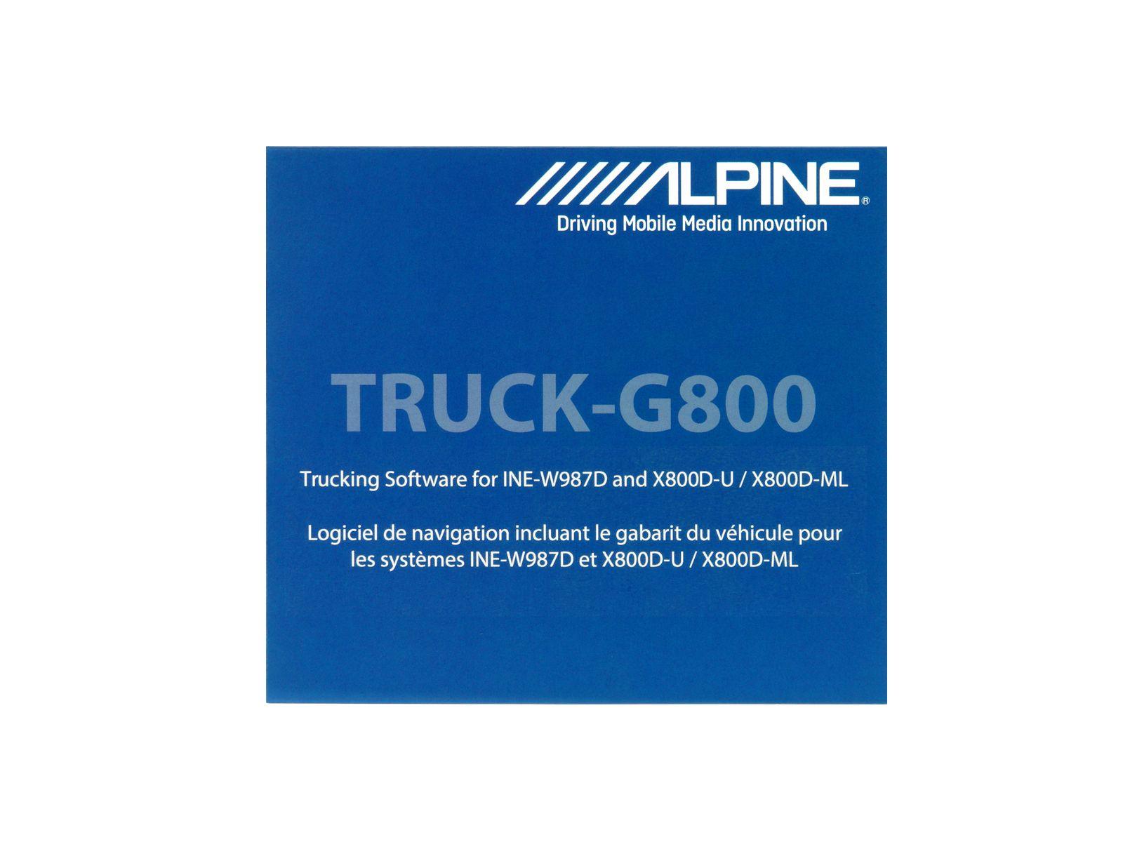ALPINE  Navigationssoftware »TRUCK-G800«