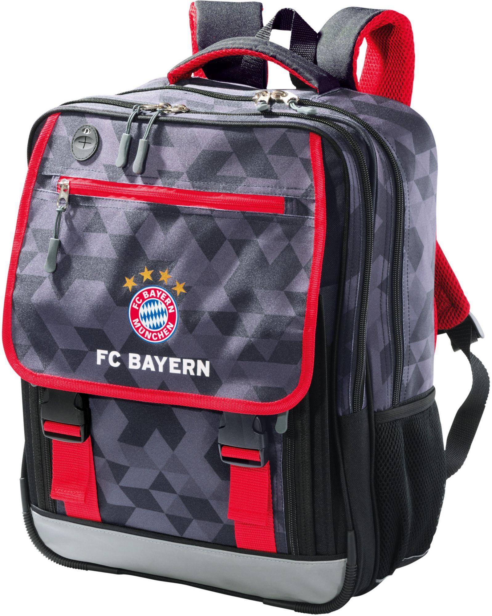 FC BAYERN FC Bayern Schulrucksack Classic