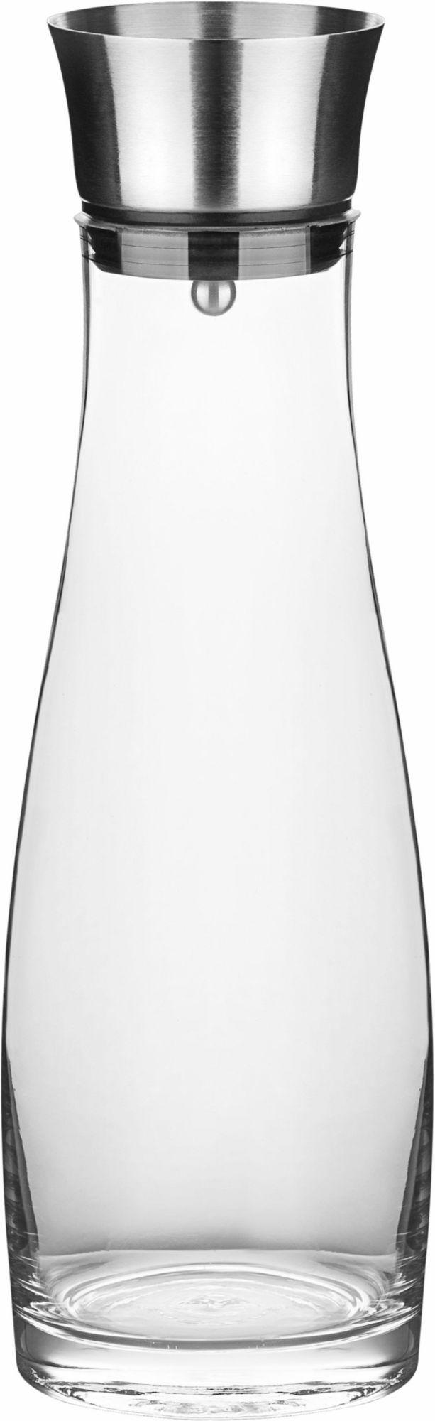 CHG  Glaskaraffe mit Edelstahl-Ausgießer, Inhalt 1,1 l