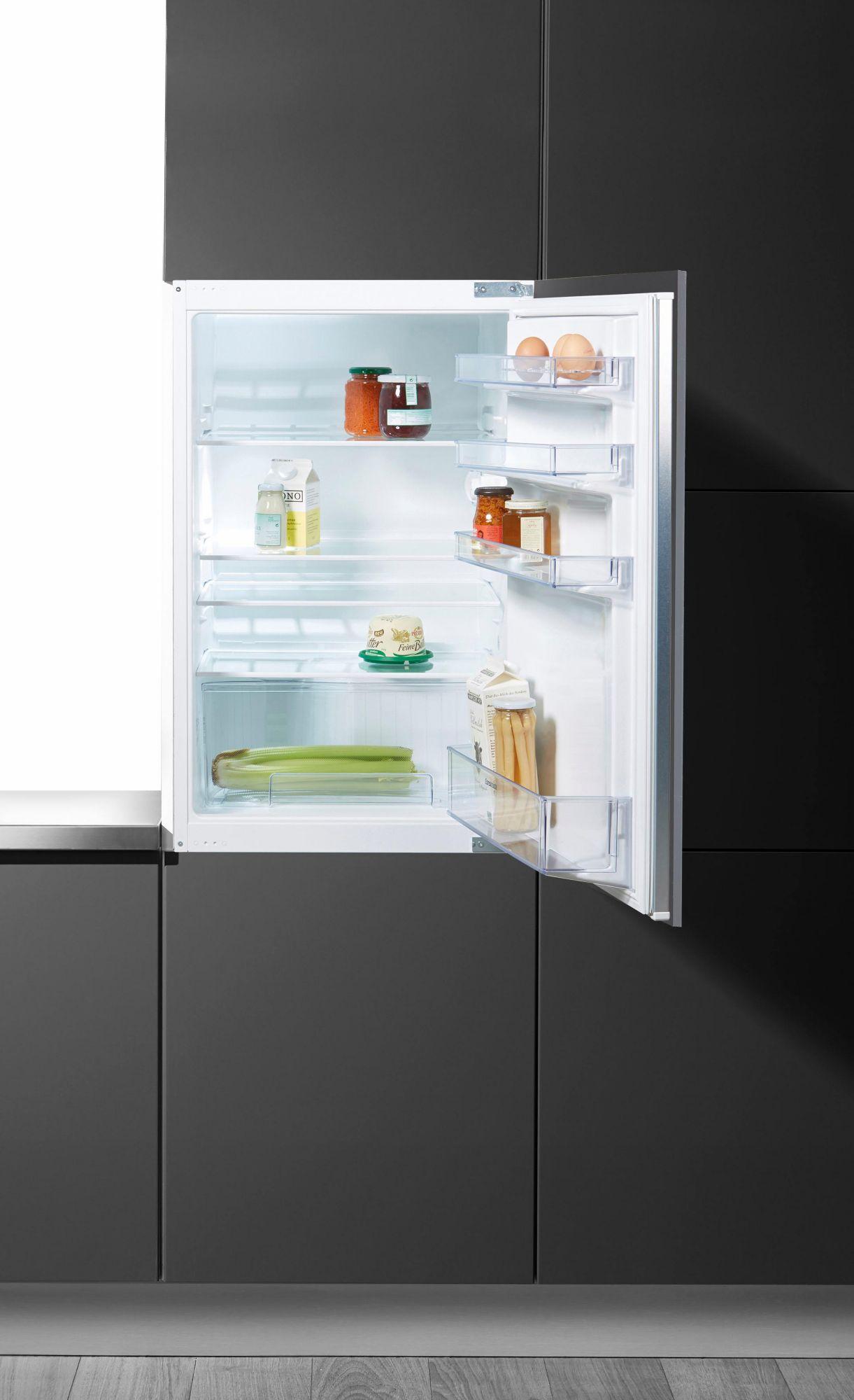 CONSTRUCTA Constructa Integrierbarer Einbaukühlschrank CK60244, Energieklasse A+, 87,4 cm hoch