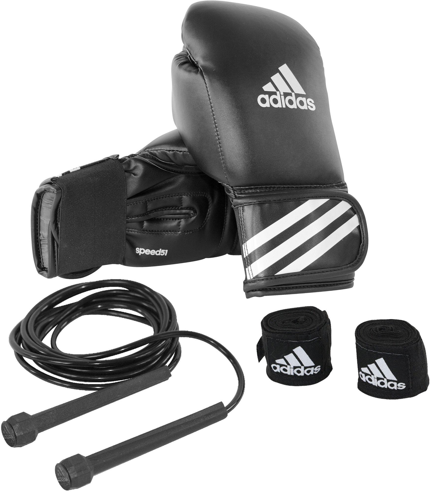 ADIDAS PERFORMANCE adidas Performance Boxhandschuhe mit Springseil und Bandagen, »Boxing Kit«