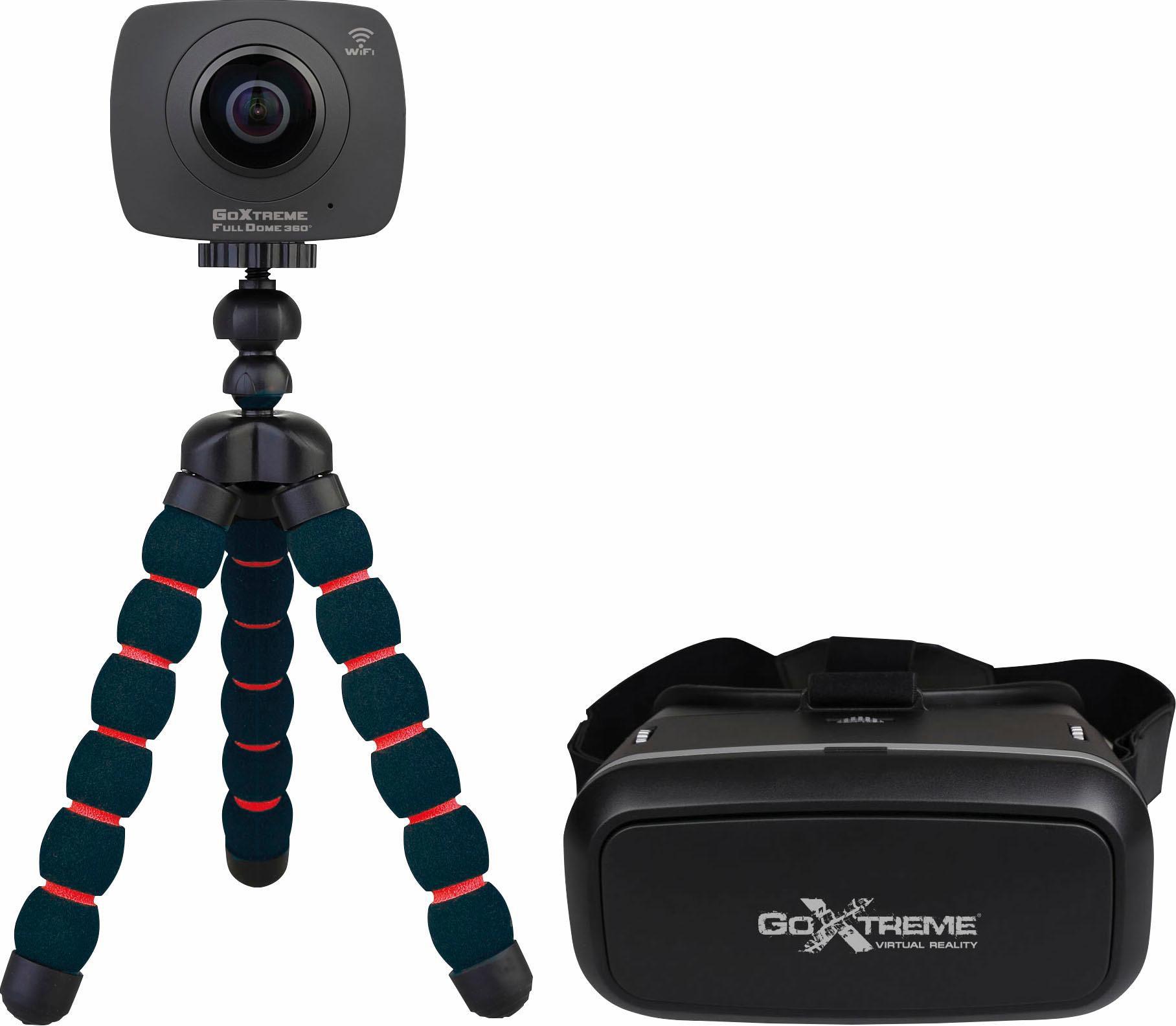 EASYPIX Easypix Full Dome 360° VR Headset Bundle Panorama Kamera, 4 Megapixel, 2,4 cm (1 Zoll) Display