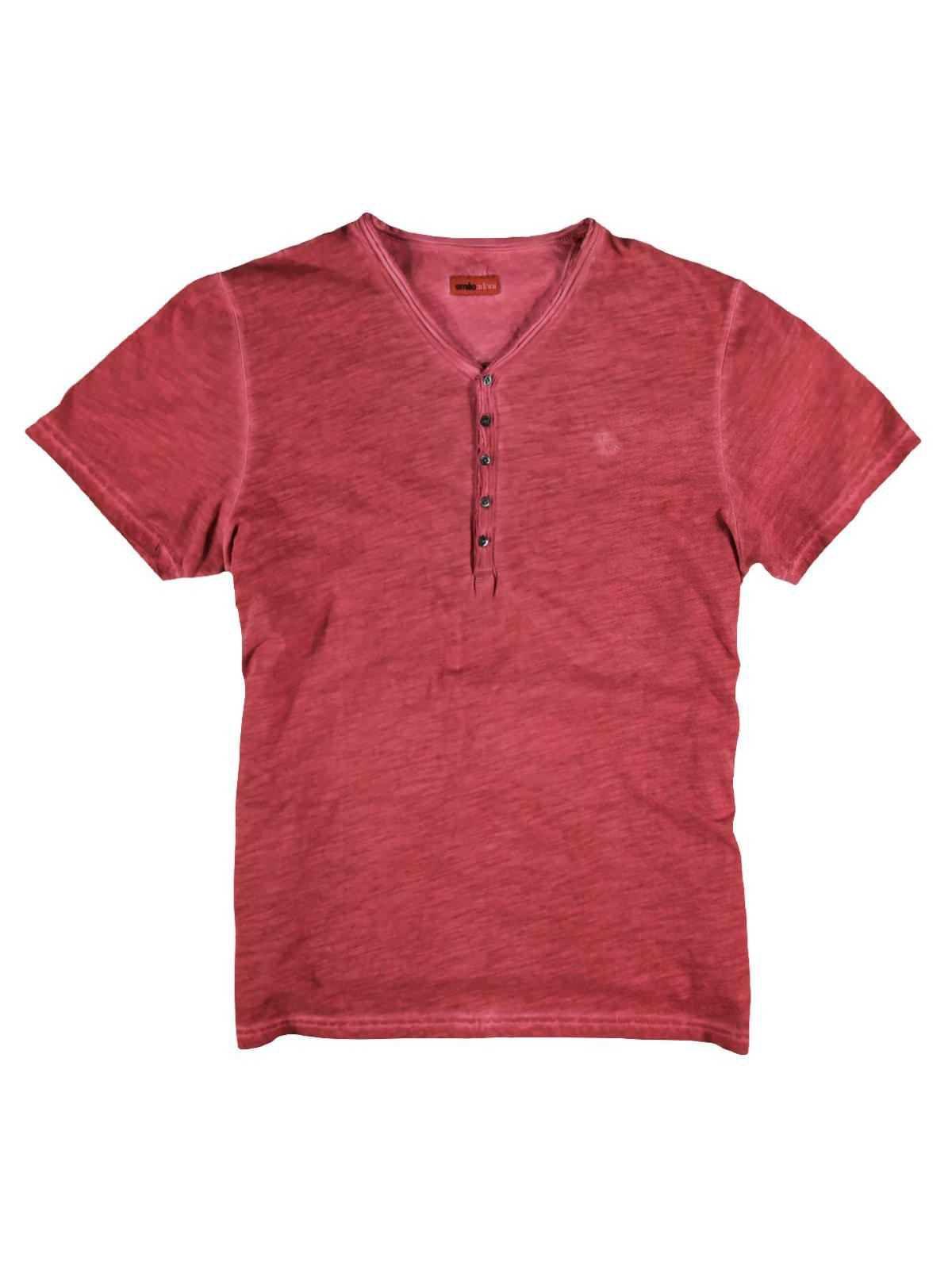 EMILIO ADANI emilio adani Henley T-Shirt