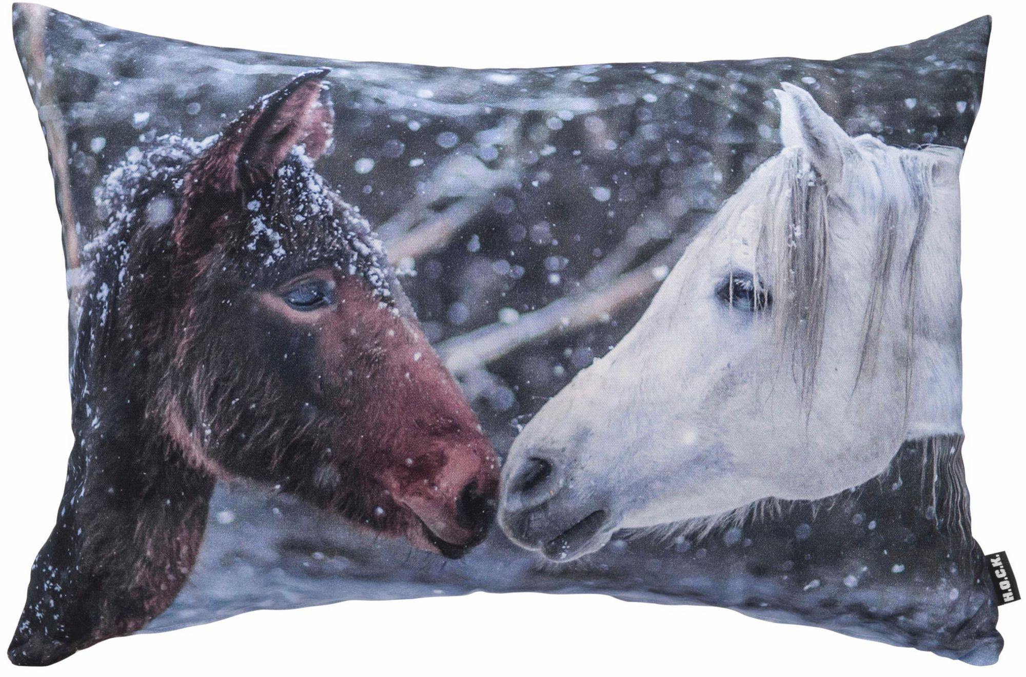 HOCK Hock Kissen mit Pferdemotiv