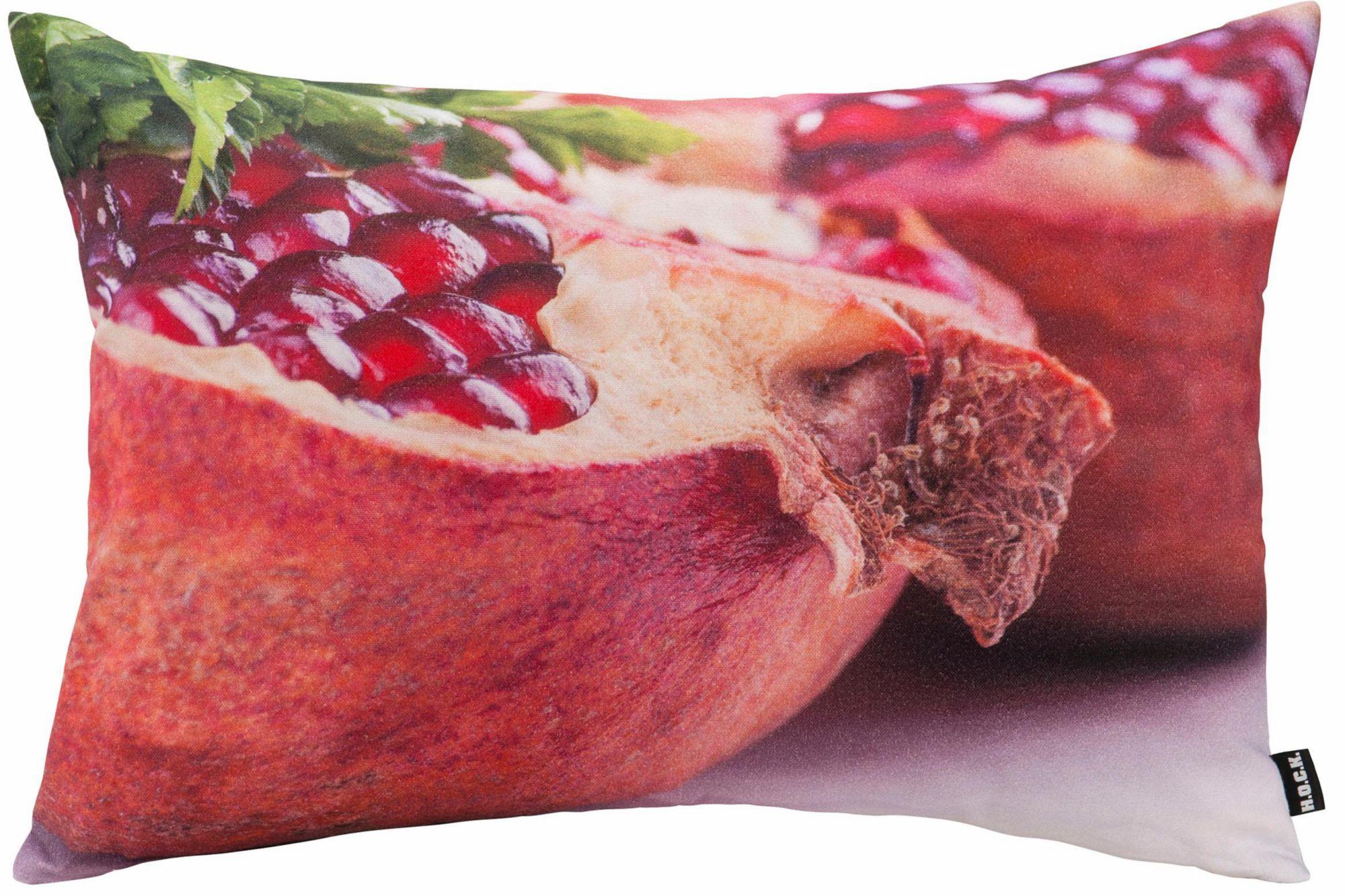 HOCK Hock Kissen mit Granatapfelmotiv