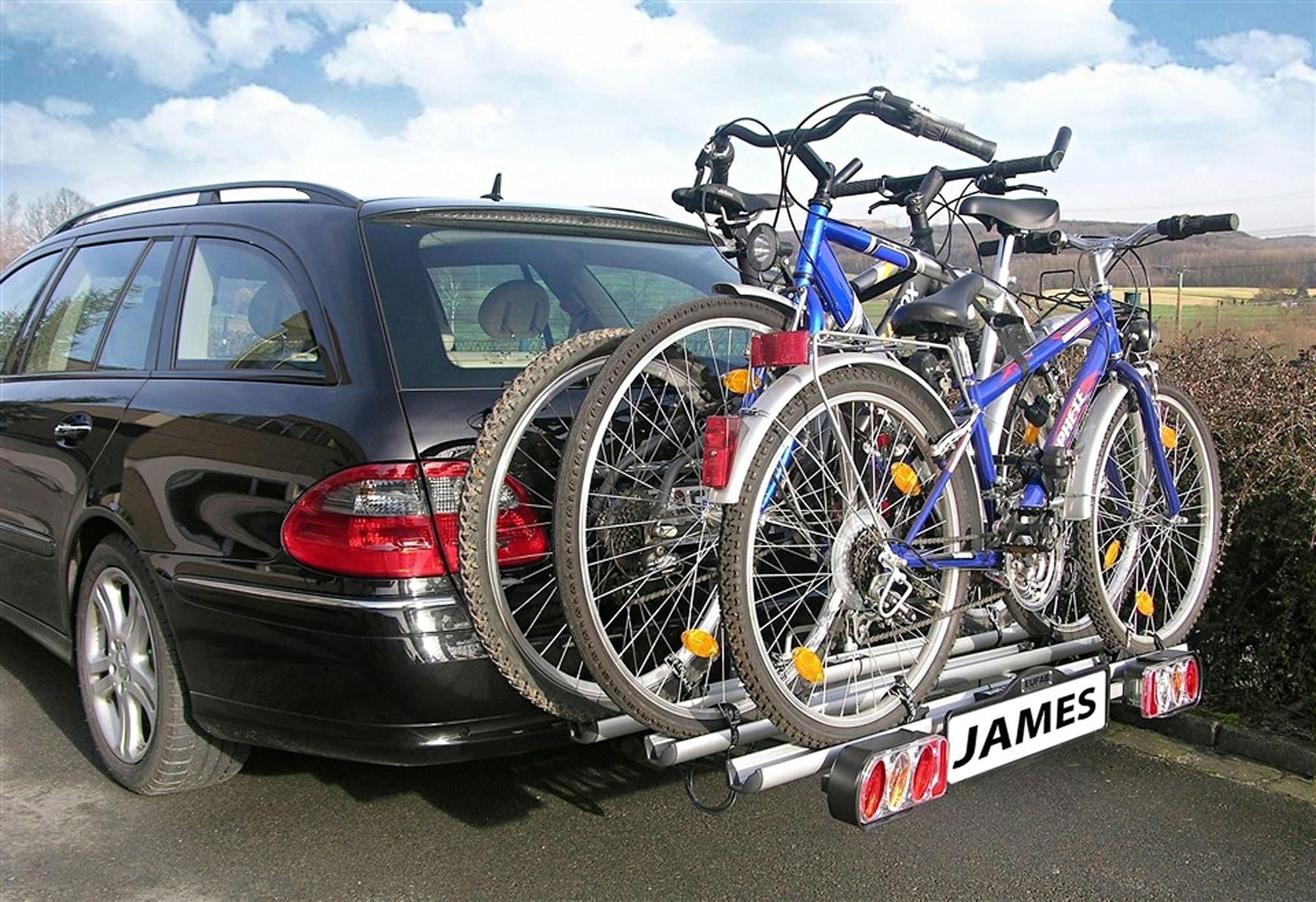 EUFAB  Erweiterung für Fahrradheckträger