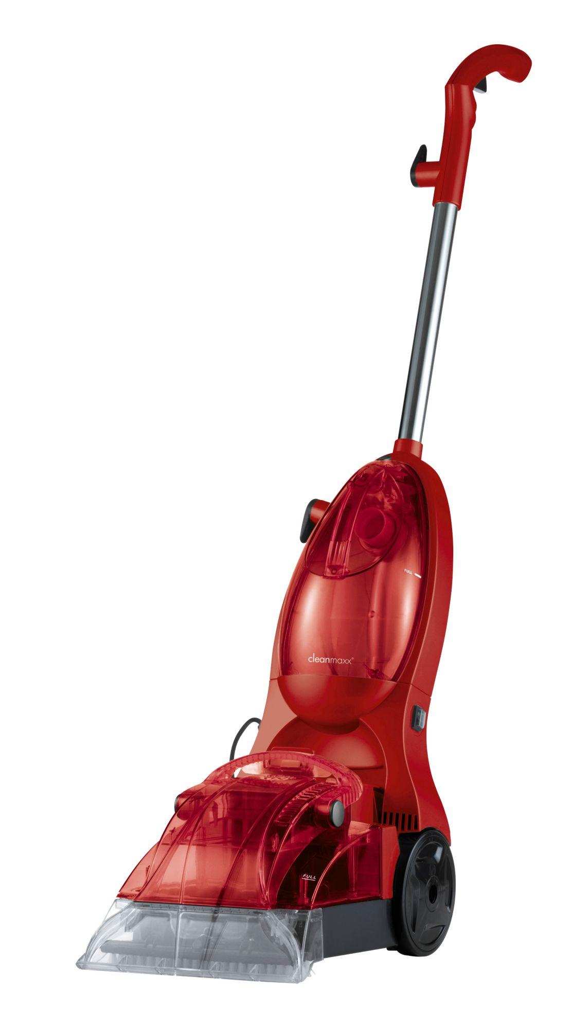 CLEAN MAXX CLEANmaxx Nass-/Trockensauger »Teppichreiniger, rot«