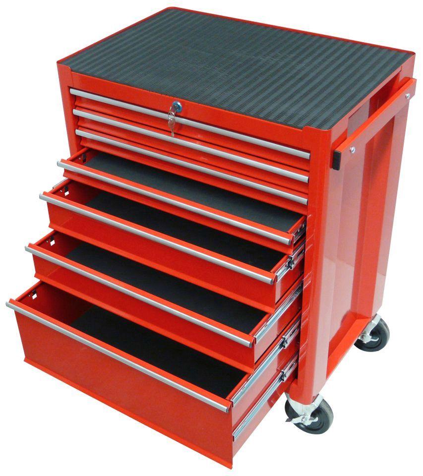 FAMEX Werkstattwagen mit 7 Schubladen