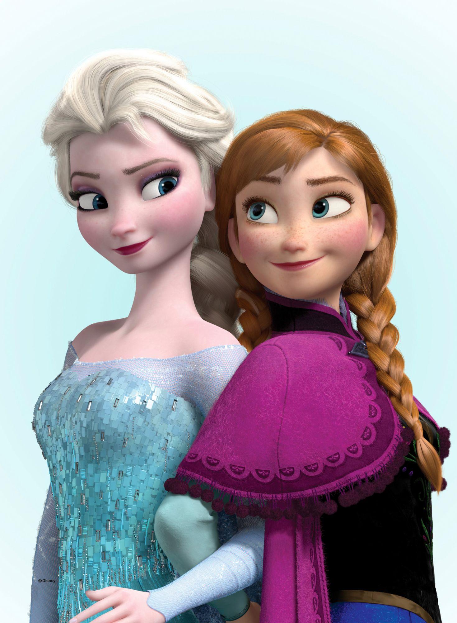 GRAHAM BROWN Graham & Brown Leinwandbild »Eiskönigin - Elsa und Anna«
