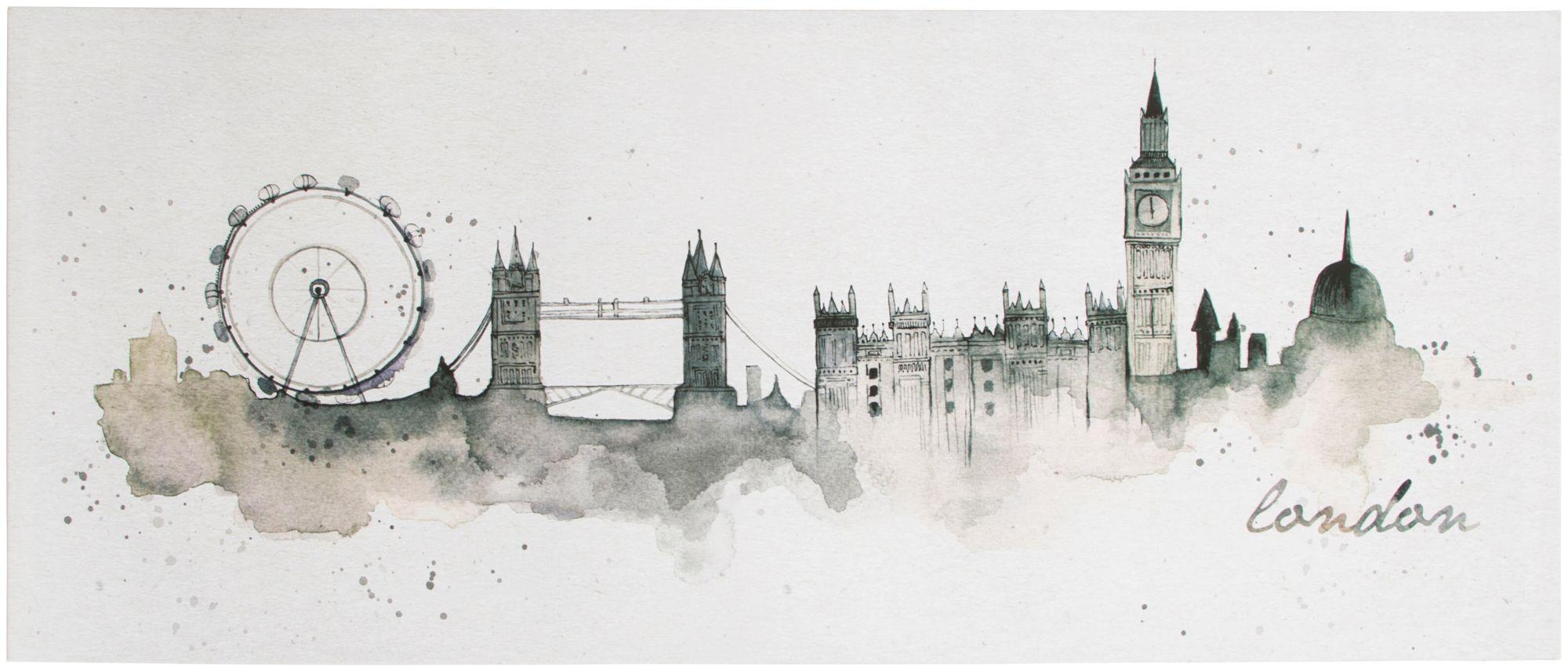 GRAHAM BROWN Graham & Brown Leinwand »London«
